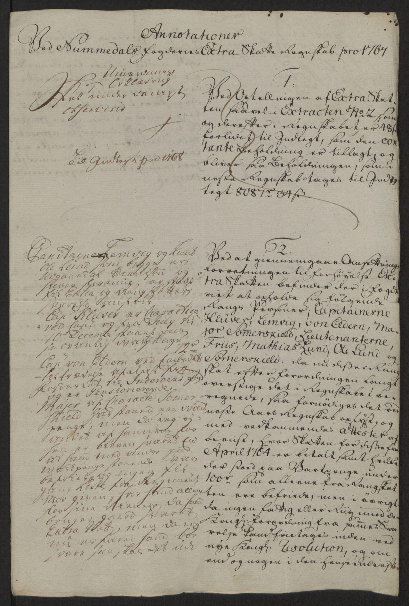 RA, Rentekammeret inntil 1814, Reviderte regnskaper, Fogderegnskap, R64/L4502: Ekstraskatten Namdal, 1762-1772, s. 268