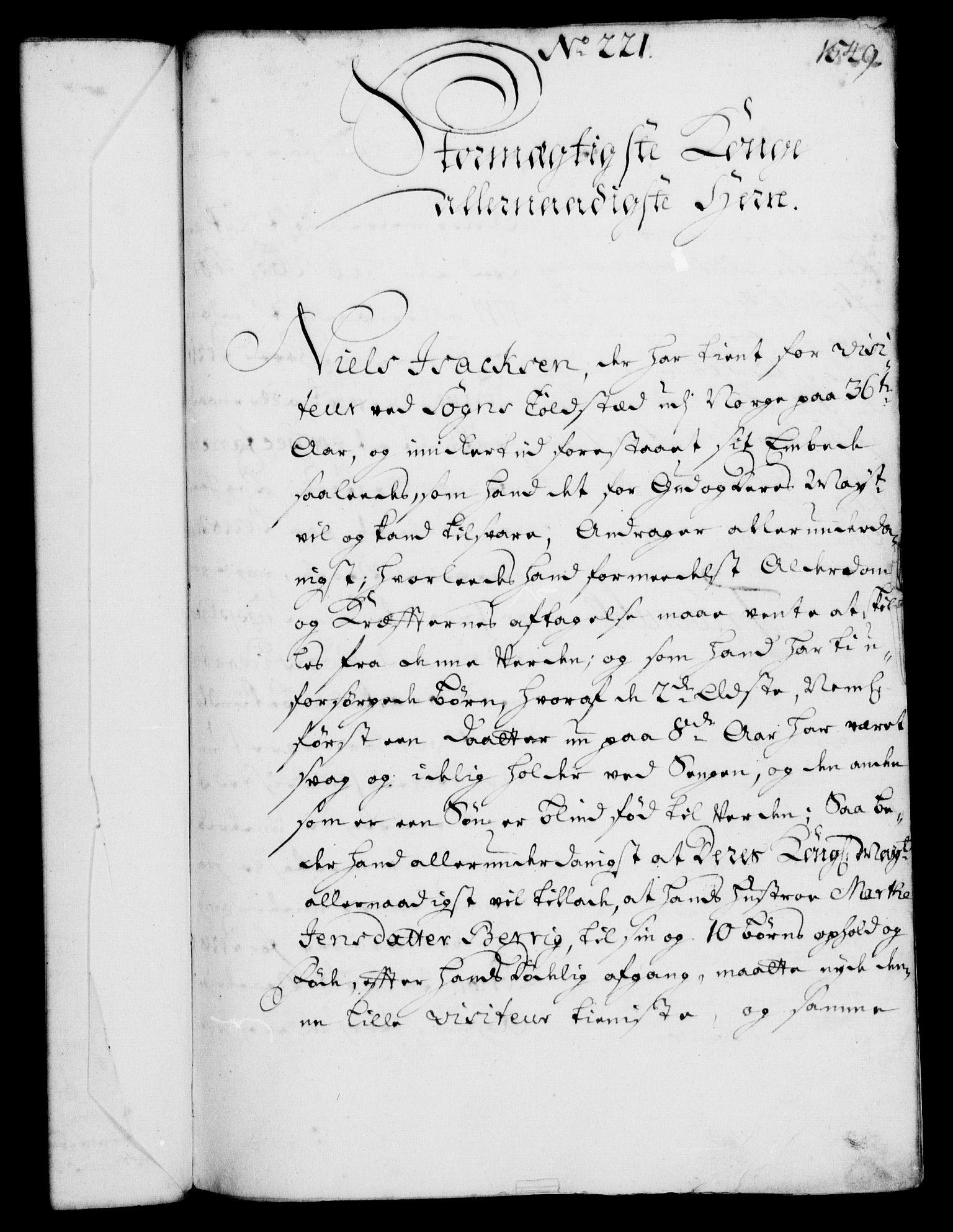 RA, Rentekammeret, Kammerkanselliet, G/Gf/Gfa/L0003: Norsk relasjons- og resolusjonsprotokoll (merket RK 52.3), 1720, s. 524