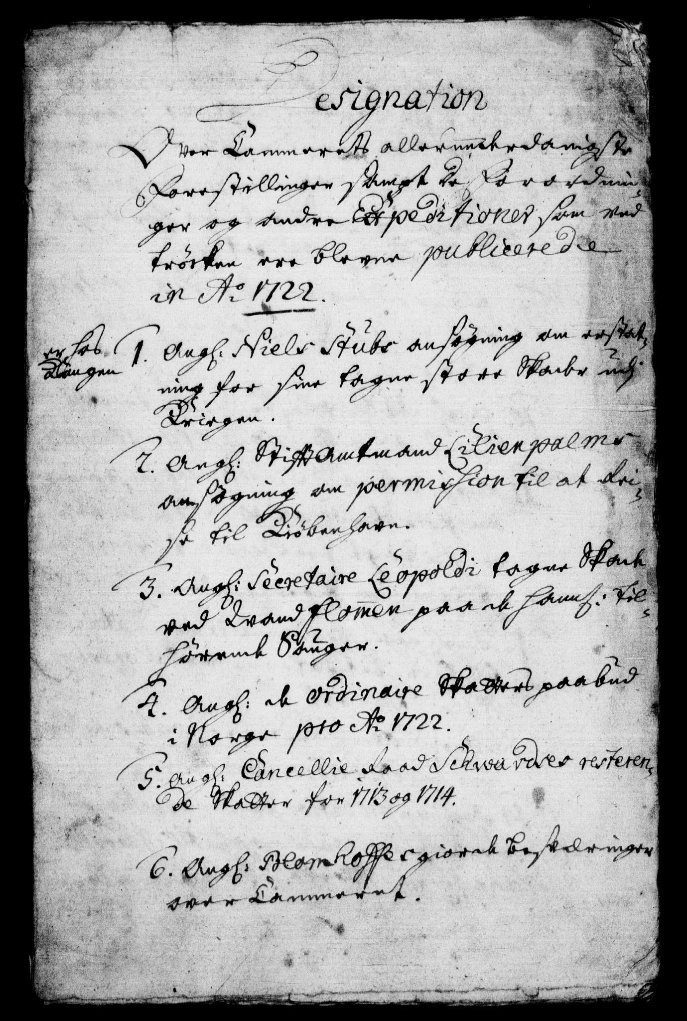 RA, Rentekammeret, Kammerkanselliet, G/Gf/Gfb/L0001: Register til norske relasjons- og resolusjonsprotokoller (merket RK 52.96), 1720-1749, s. 263