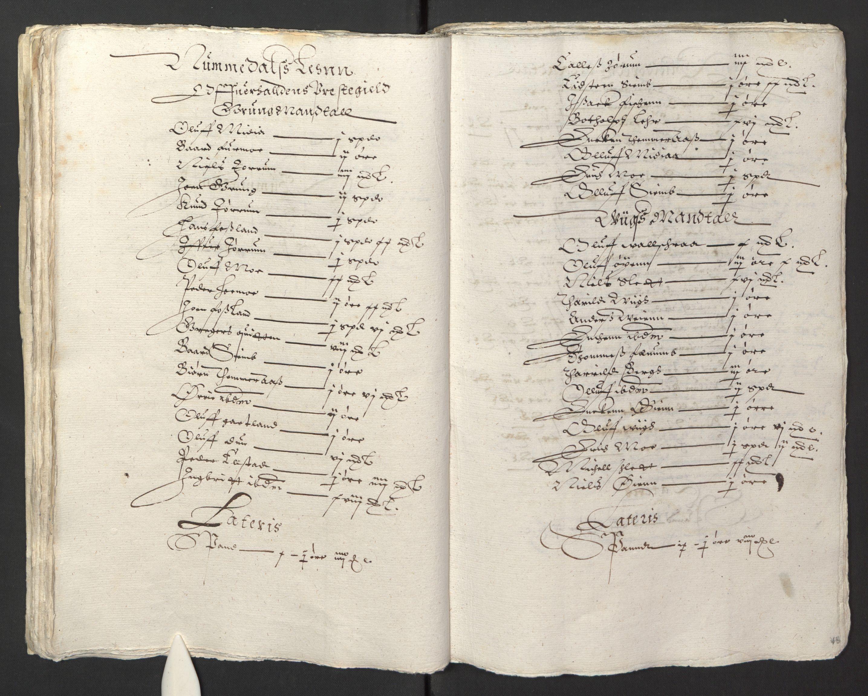 RA, Stattholderembetet 1572-1771, Ek/L0013: Jordebøker til utlikning av rosstjeneste 1624-1626:, 1624-1625, s. 51