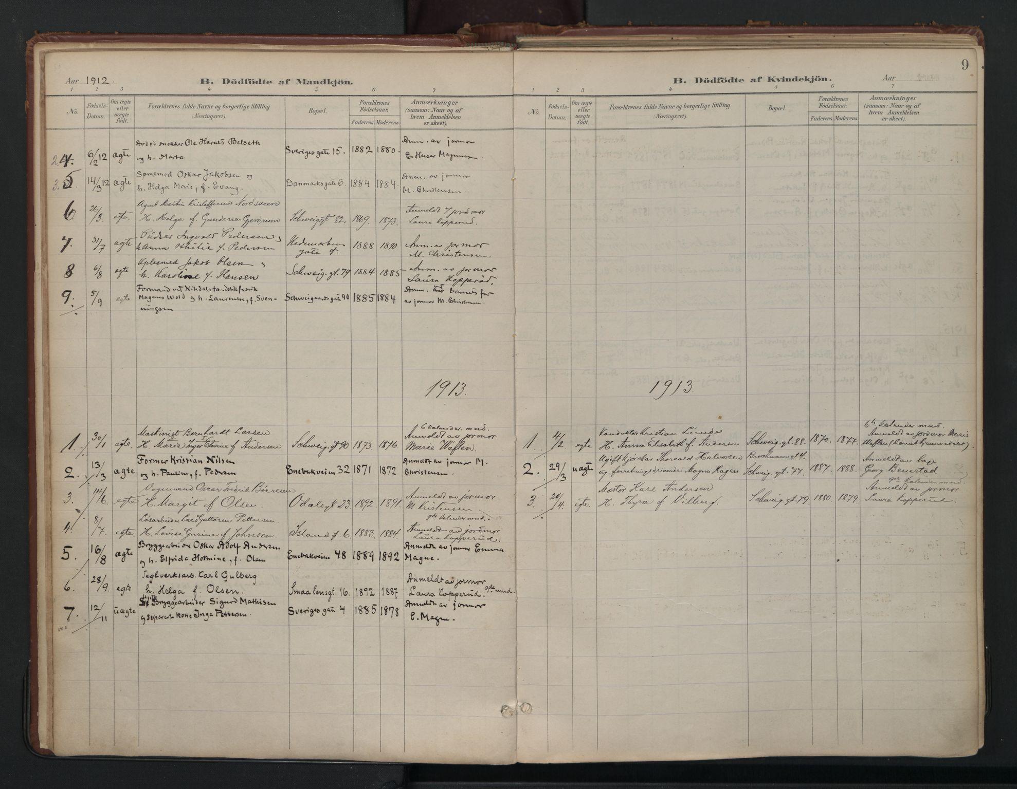 SAO, Vålerengen prestekontor Kirkebøker, F/Fa/L0003: Ministerialbok nr. 3, 1899-1930, s. 9