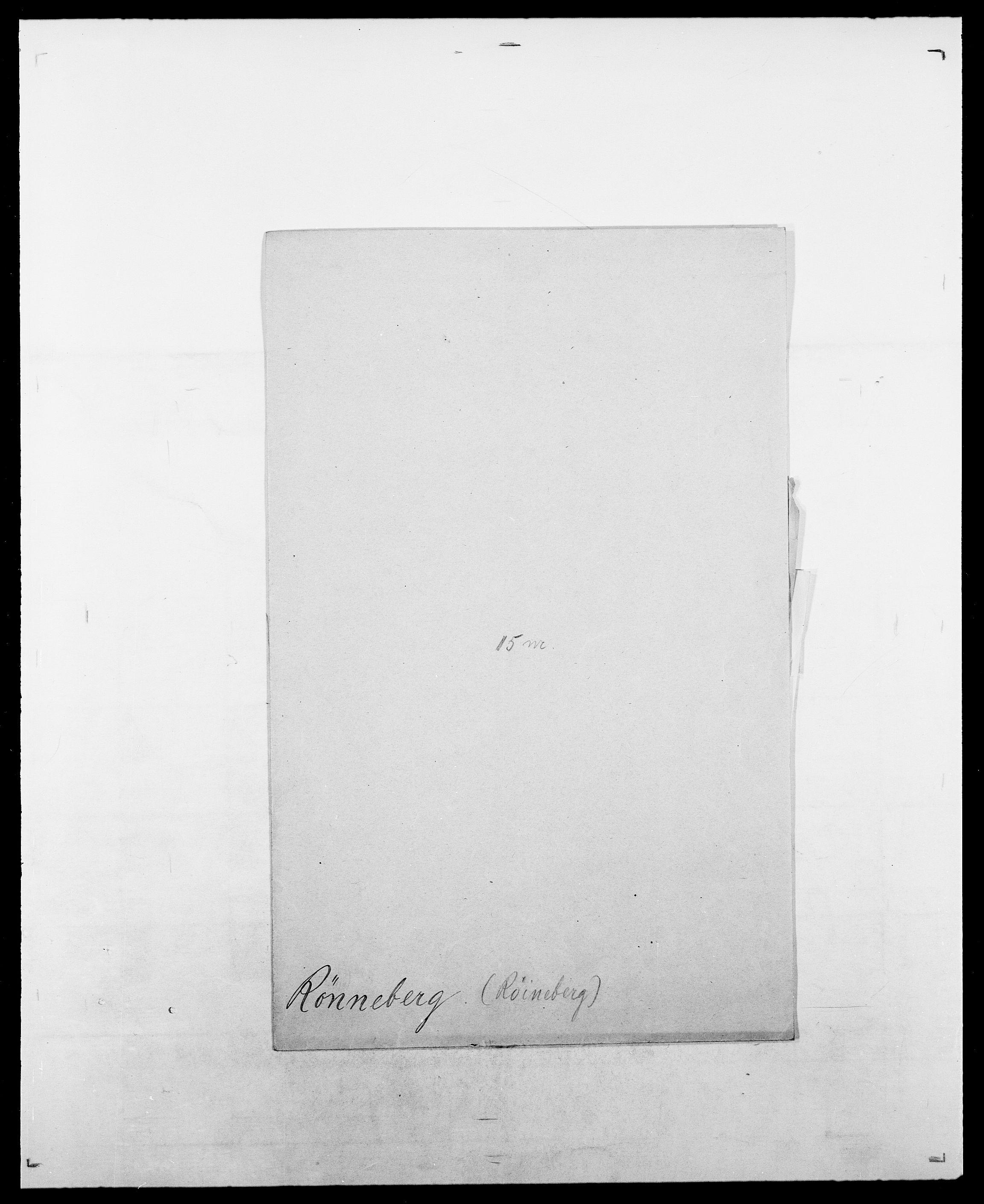 SAO, Delgobe, Charles Antoine - samling, D/Da/L0033: Roald - Røyem, s. 751