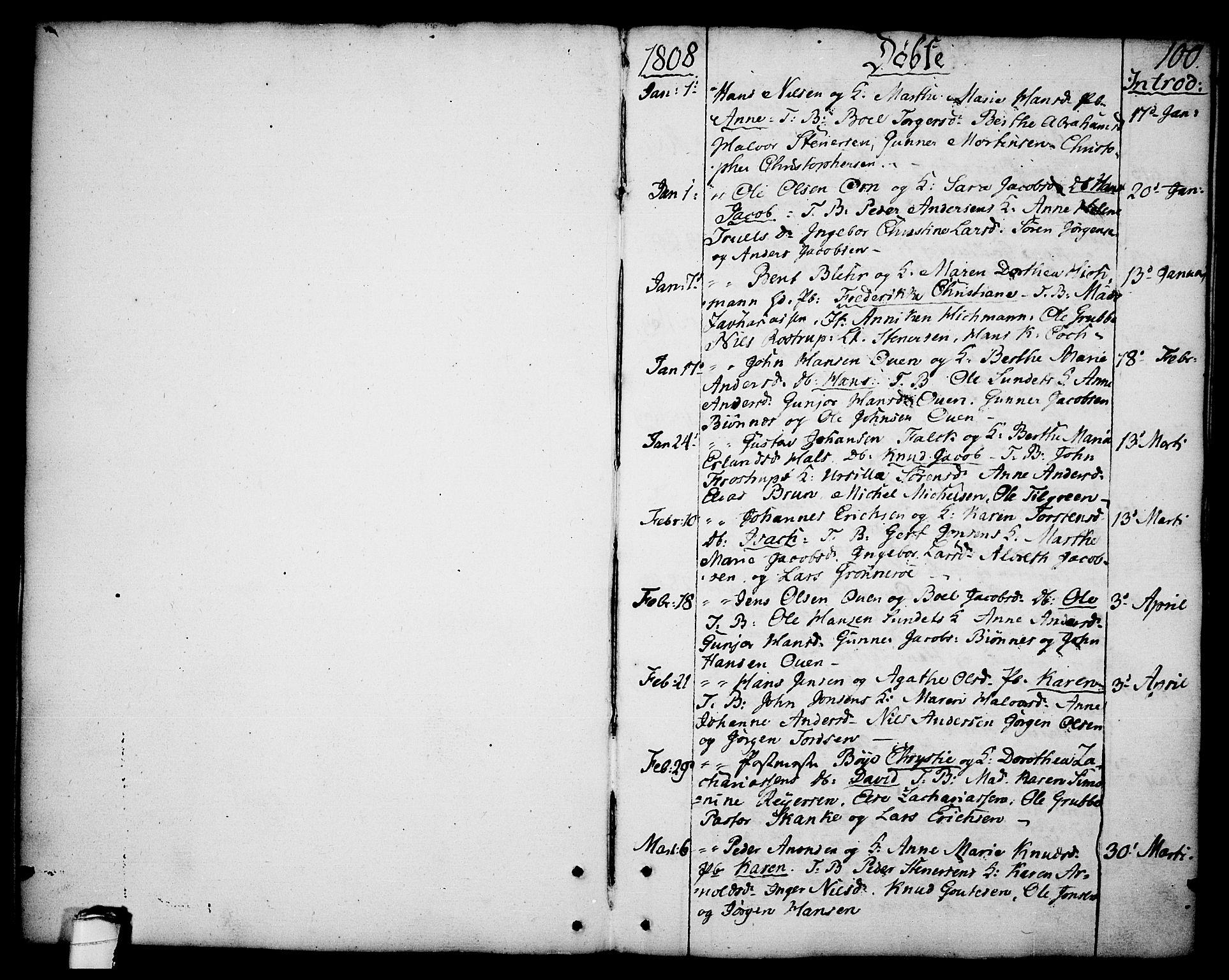 SAKO, Brevik kirkebøker, F/Fa/L0003: Ministerialbok nr. 3, 1764-1814, s. 100
