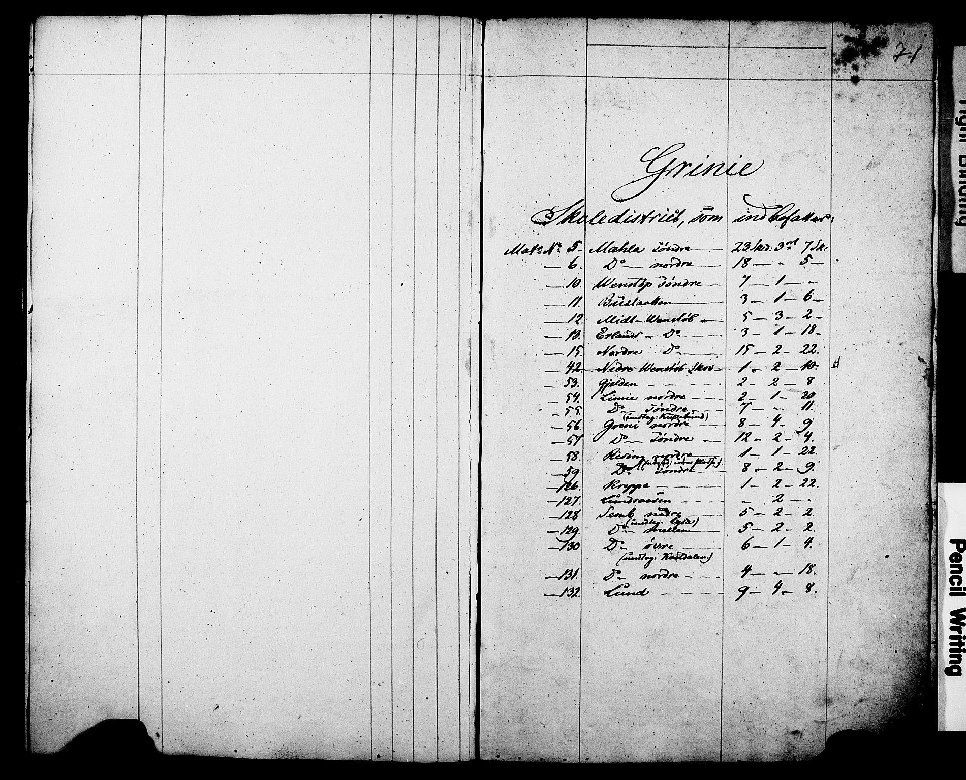Folketelling 1845 for 0812P Gjerpen prestegjeld, 1845, s. 71