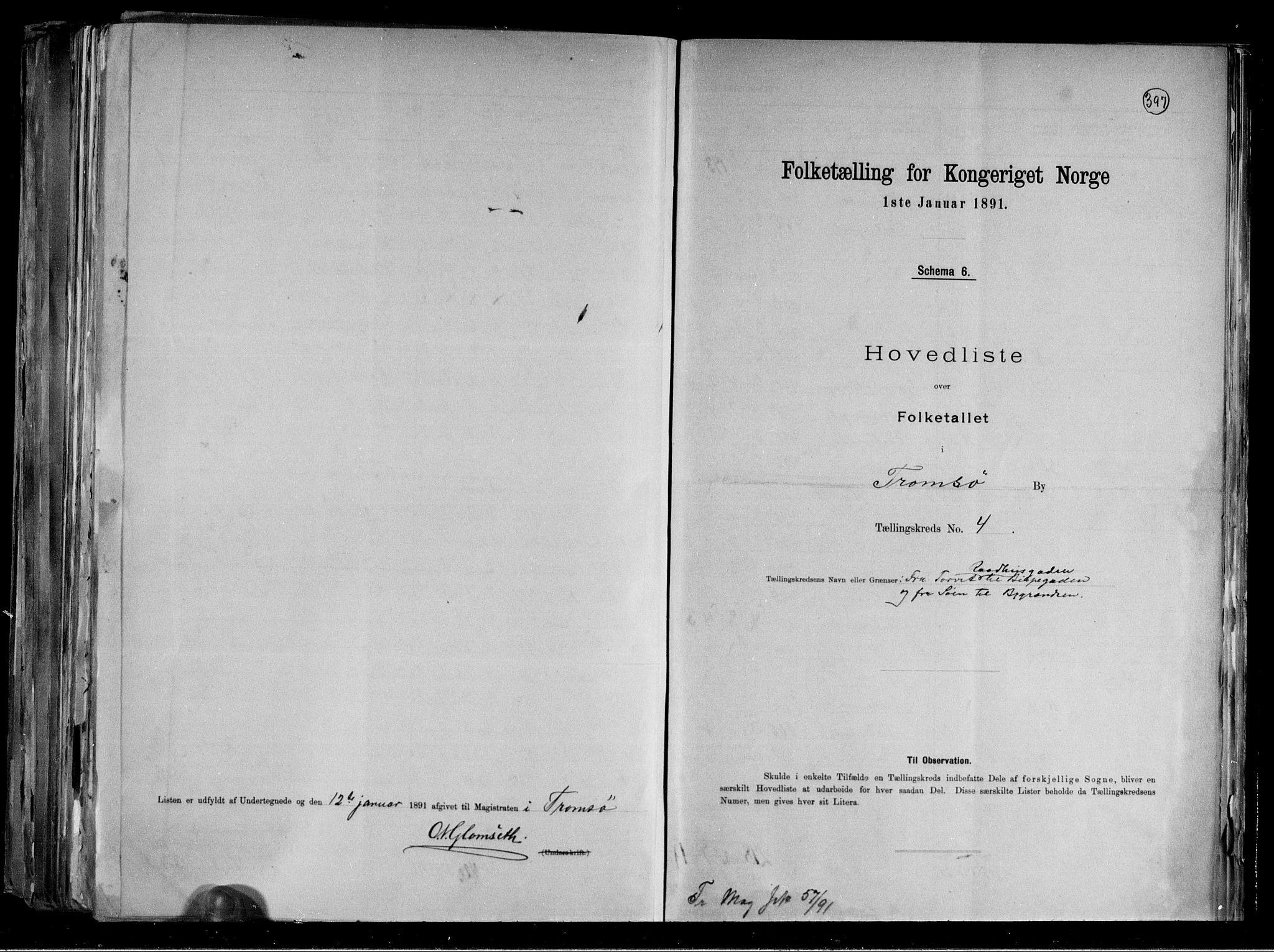RA, Folketelling 1891 for 1902 Tromsø kjøpstad, 1891, s. 15