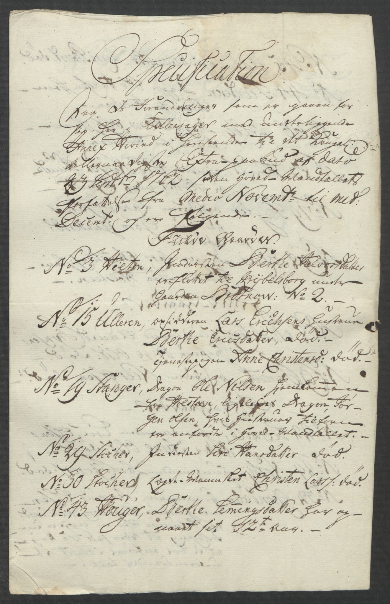 RA, Rentekammeret inntil 1814, Reviderte regnskaper, Fogderegnskap, R12/L0802: Ekstraskatten Øvre Romerike, 1762, s. 262
