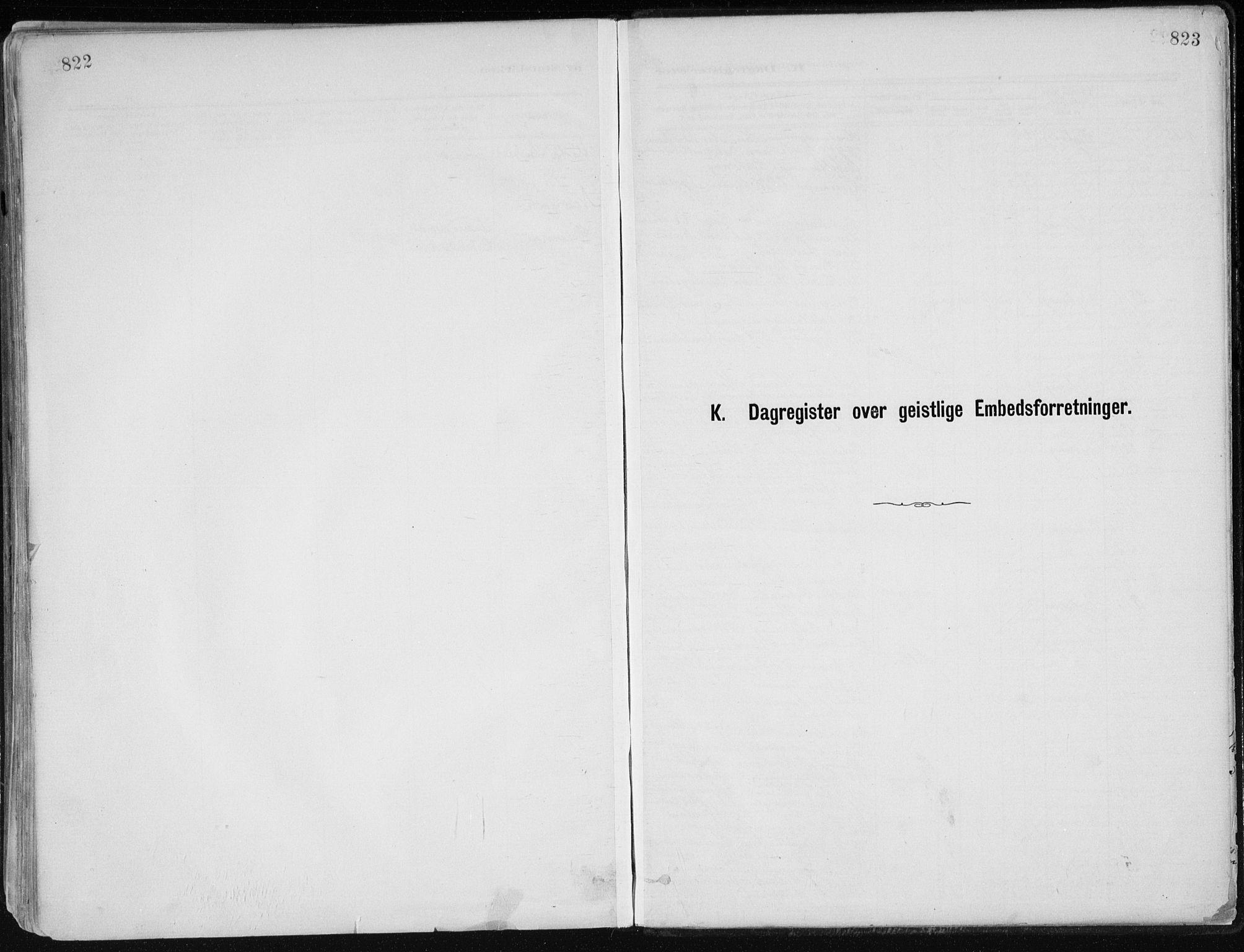 SAK, Dypvåg sokneprestkontor, F/Fa/Faa/L0008: Ministerialbok nr. A 8, 1885-1906, s. 822-823