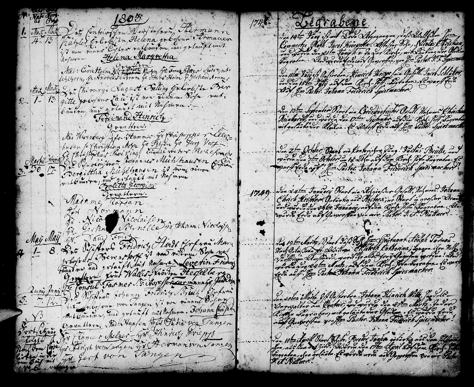 SAB, Mariakirken Sokneprestembete, H/Haa/L0002: Ministerialbok nr. A 2, 1748-1807, s. 96