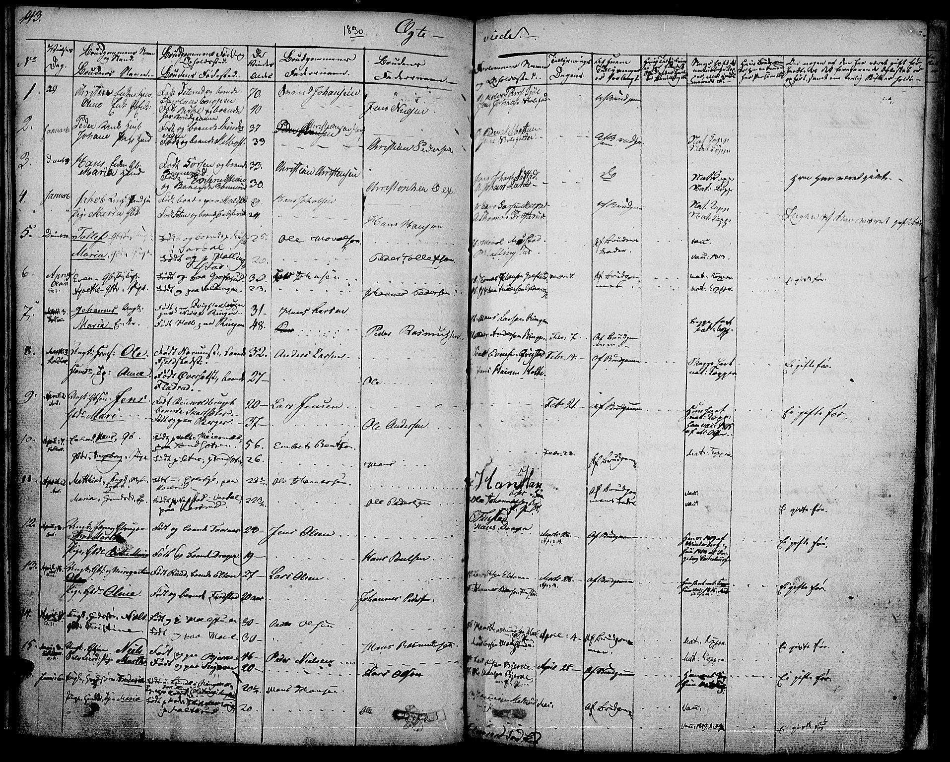 SAH, Vestre Toten prestekontor, Ministerialbok nr. 2, 1825-1837, s. 143