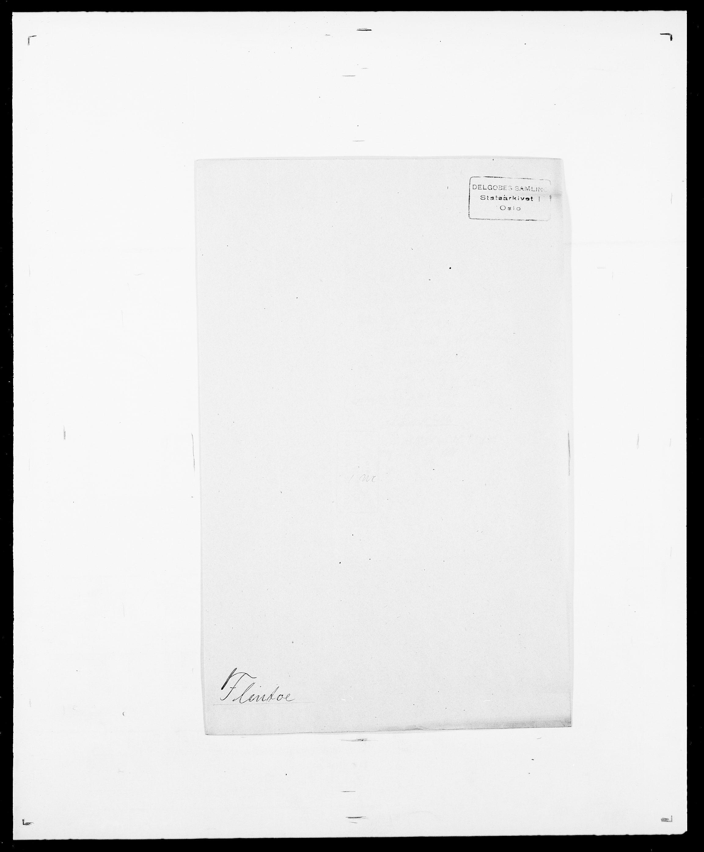 SAO, Delgobe, Charles Antoine - samling, D/Da/L0011: Fahlander - Flood, Flod, s. 674