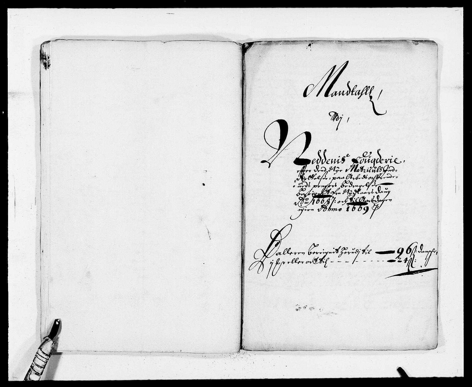 RA, Rentekammeret inntil 1814, Reviderte regnskaper, Fogderegnskap, R39/L2298: Fogderegnskap Nedenes, 1667-1669, s. 86