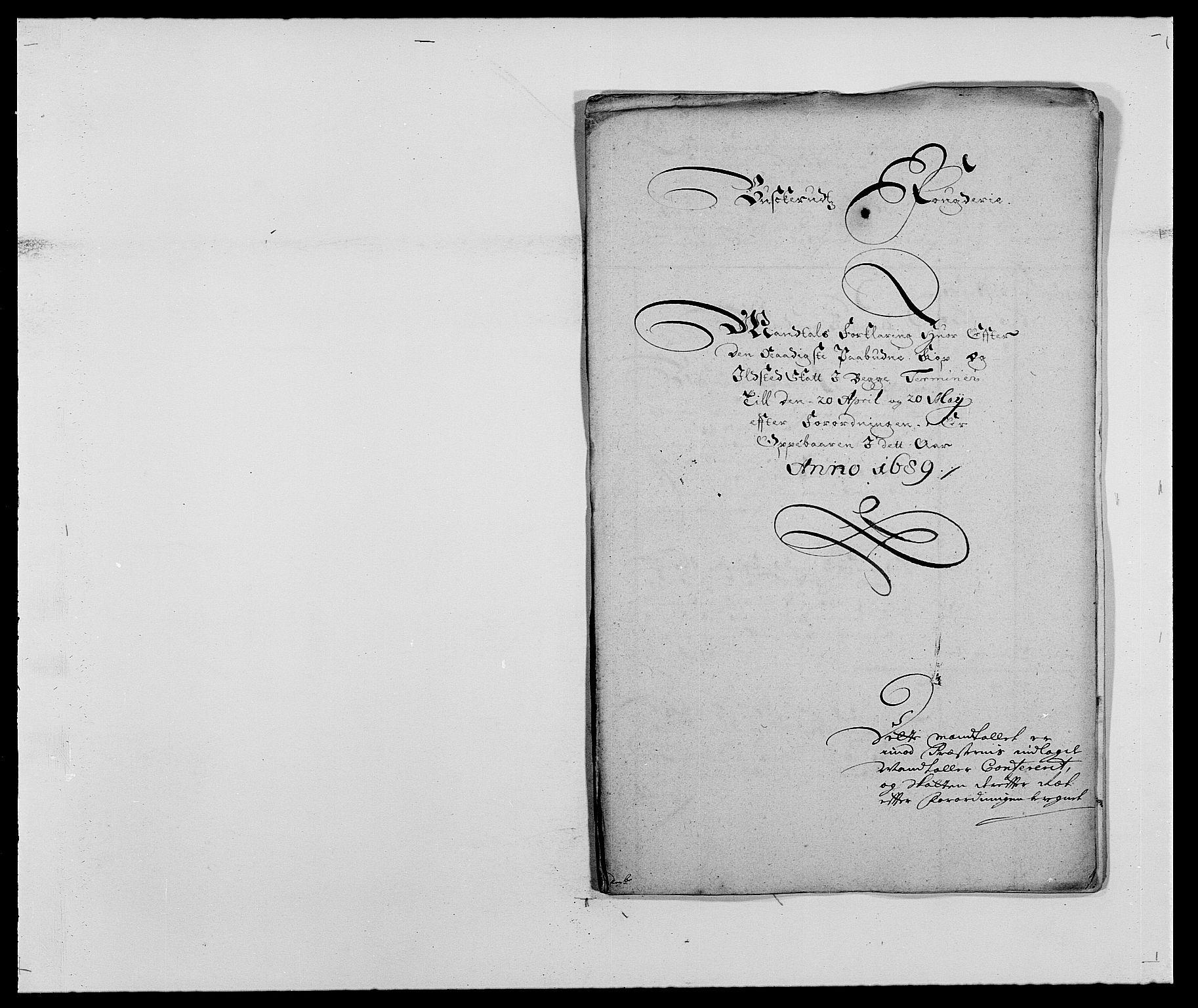 RA, Rentekammeret inntil 1814, Reviderte regnskaper, Fogderegnskap, R25/L1680: Fogderegnskap Buskerud, 1689-1690, s. 228