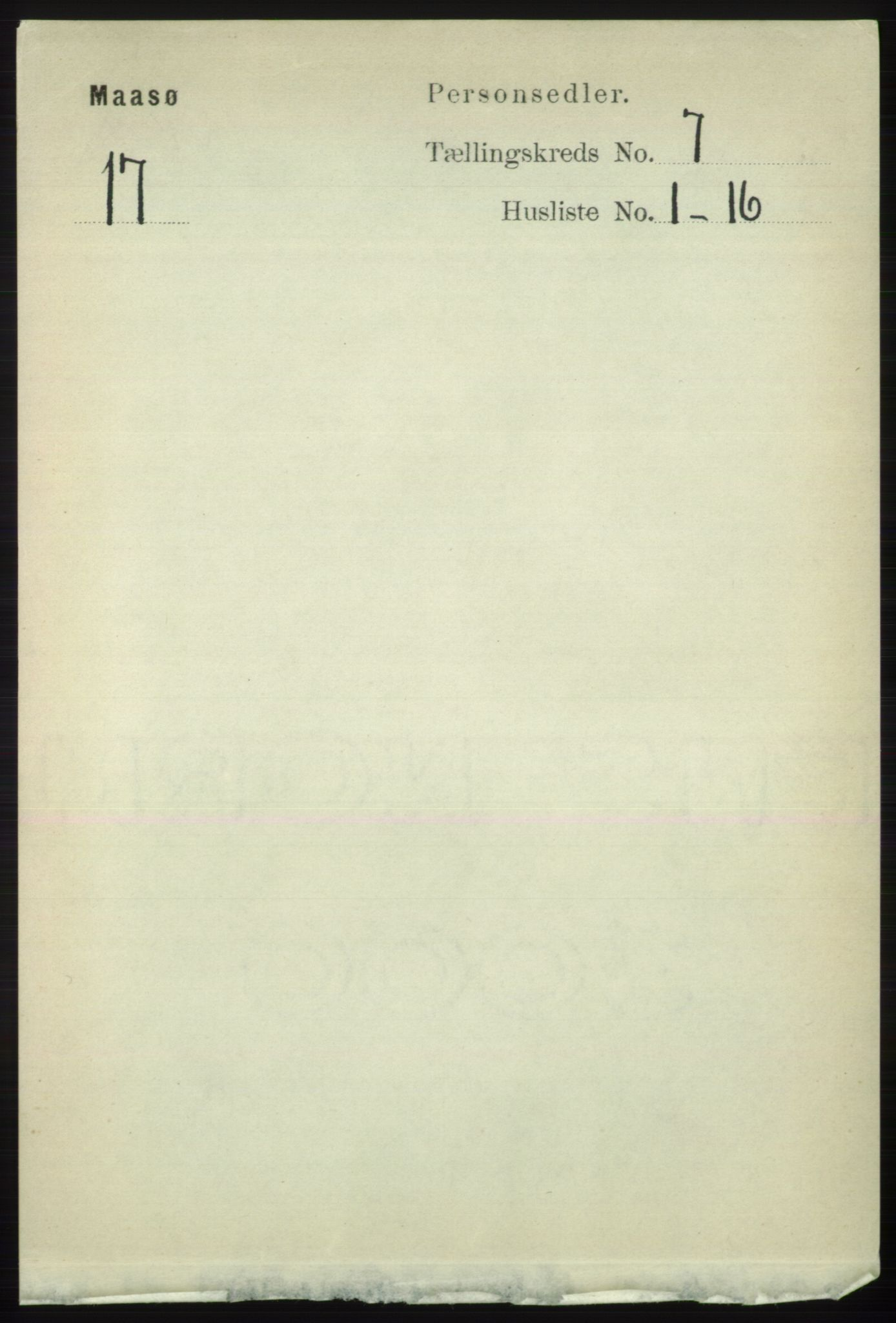 RA, Folketelling 1891 for 2018 Måsøy herred, 1891, s. 1401