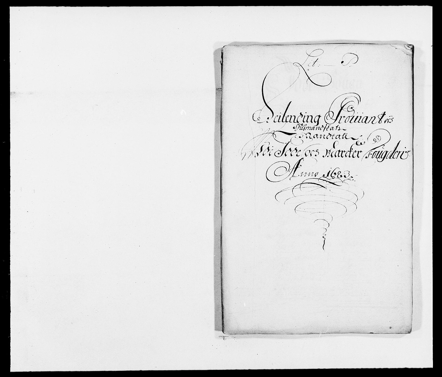 RA, Rentekammeret inntil 1814, Reviderte regnskaper, Fogderegnskap, R01/L0004: Fogderegnskap Idd og Marker , 1682-1683, s. 235