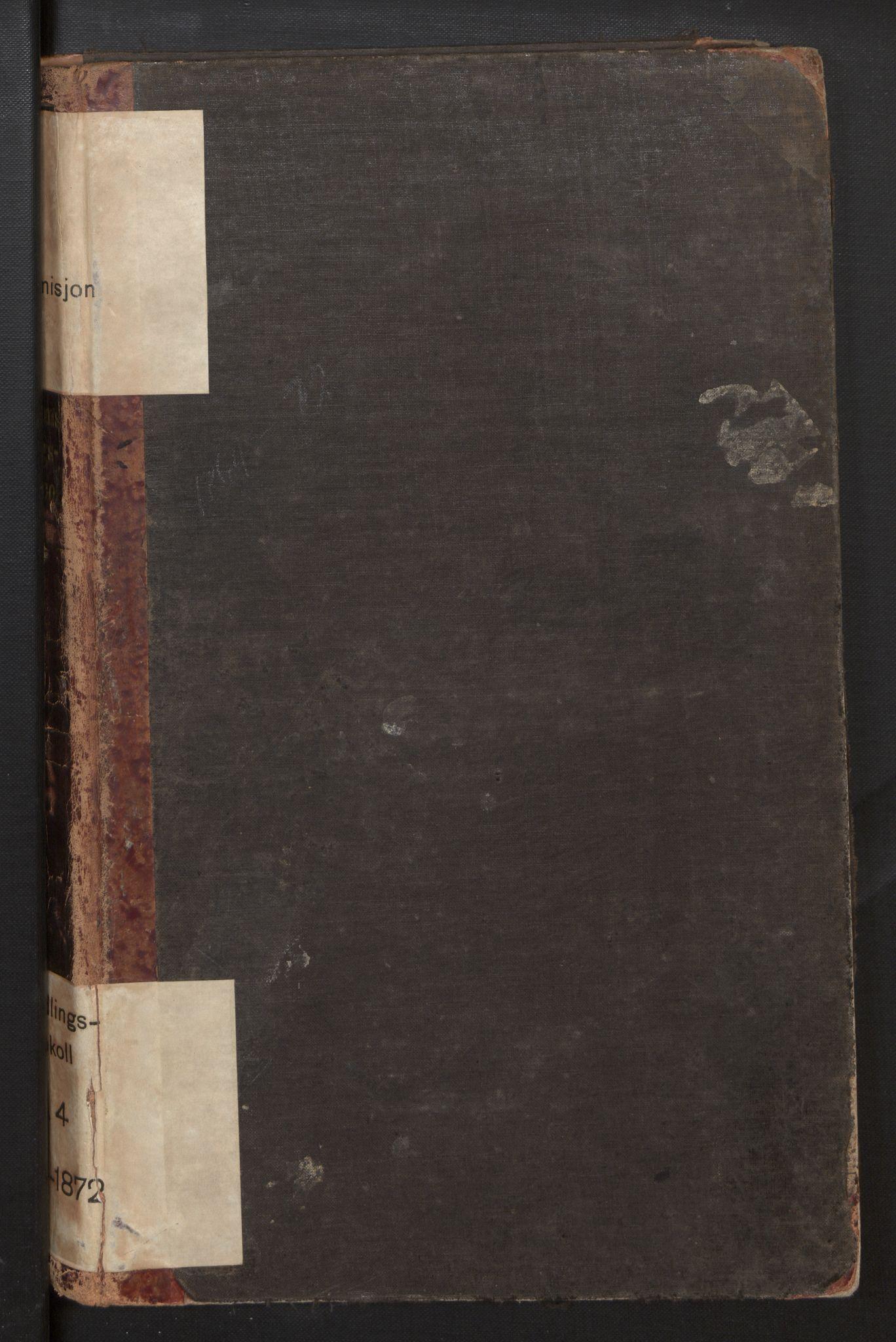 SAB, Eid (og Davik) forliksråd, A/L0004: Forhandlingsprotokoll, 1864-1872