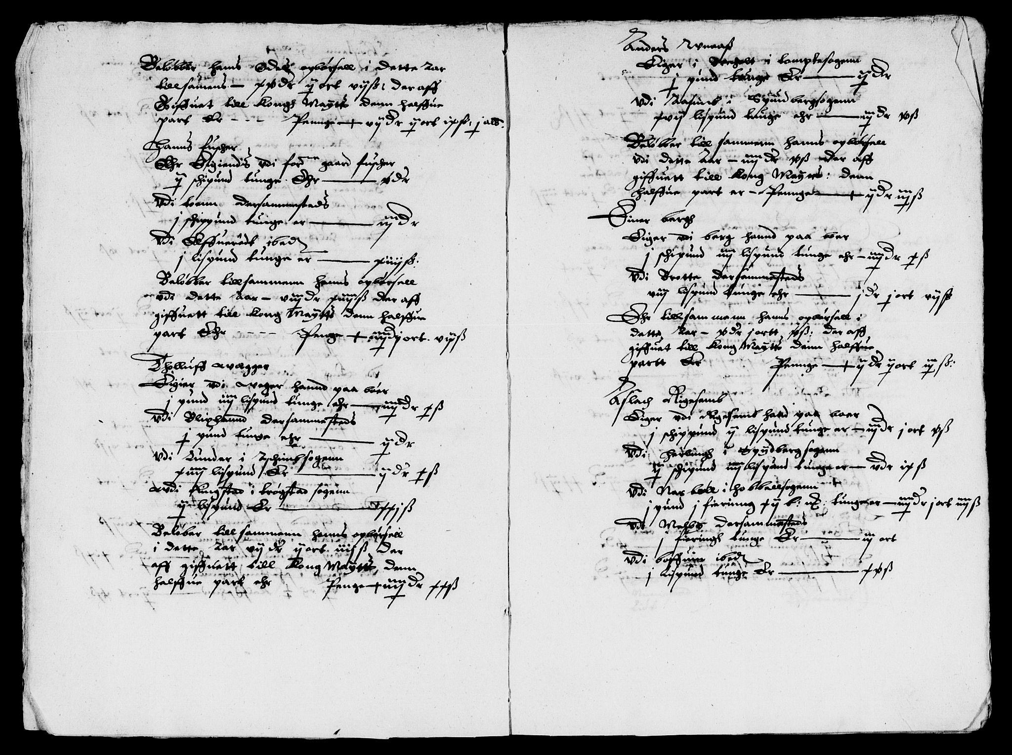 RA, Rentekammeret inntil 1814, Reviderte regnskaper, Lensregnskaper, R/Rb/Rbd/L0001: Maria kirke prosti gods og Rakkestad len, 1627-1633