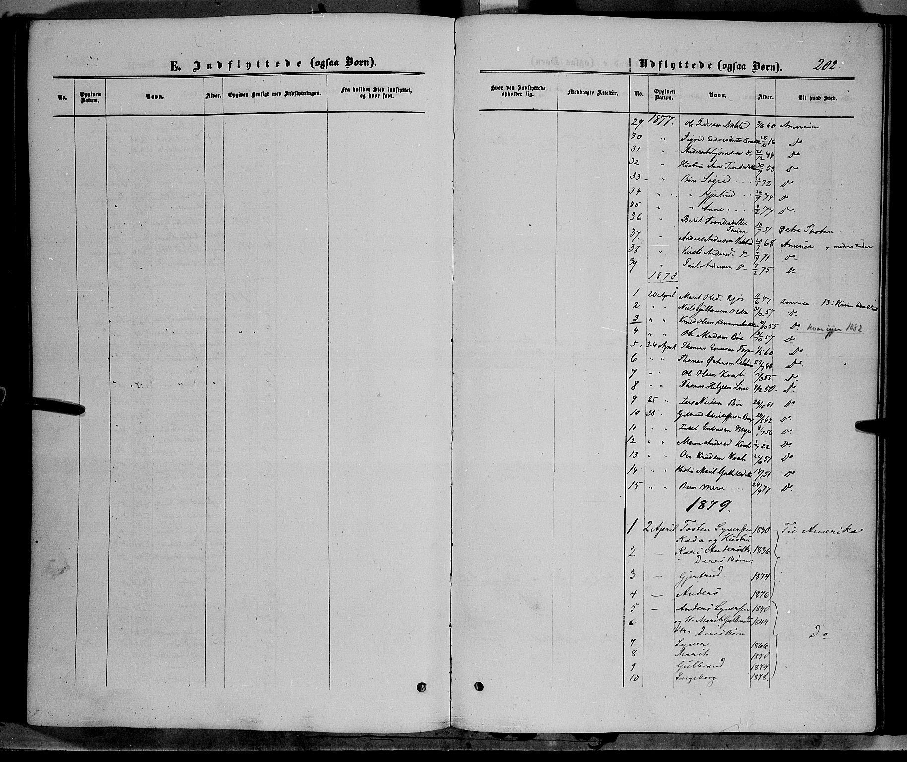 SAH, Vang prestekontor, Valdres, Ministerialbok nr. 7, 1865-1881, s. 202