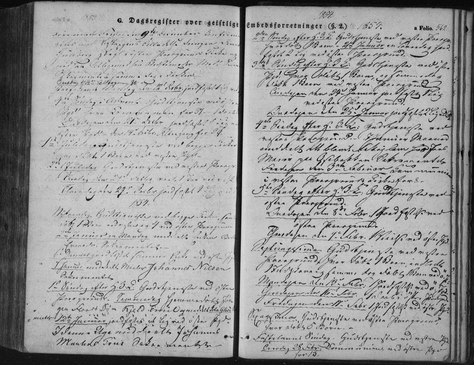 SAKO, Porsgrunn kirkebøker , F/Fa/L0006: Ministerialbok nr. 6, 1841-1857, s. 562