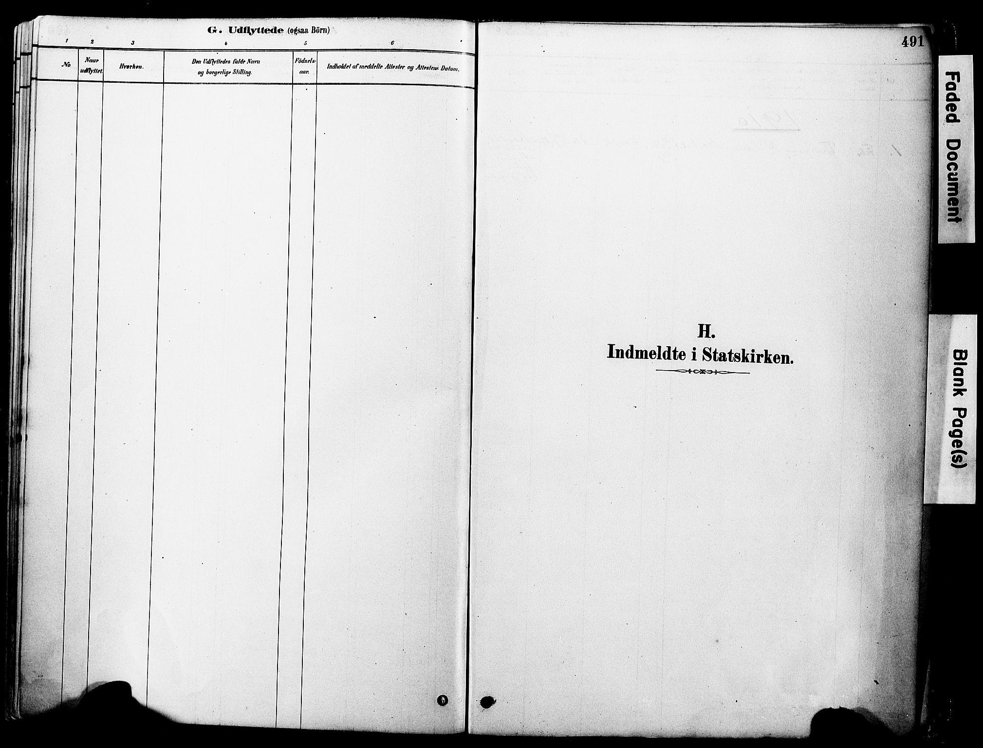 SAT, Ministerialprotokoller, klokkerbøker og fødselsregistre - Møre og Romsdal, 560/L0721: Ministerialbok nr. 560A05, 1878-1917, s. 491