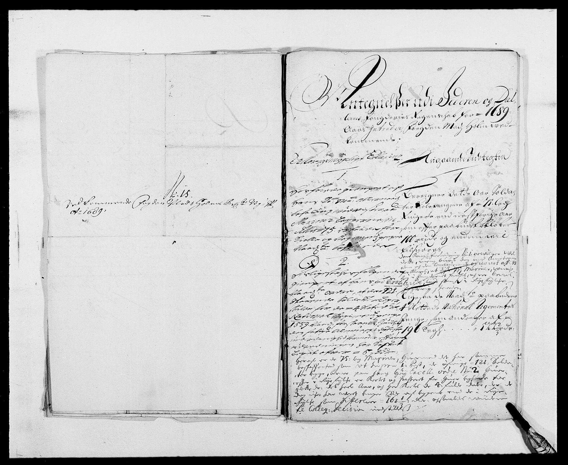 RA, Rentekammeret inntil 1814, Reviderte regnskaper, Fogderegnskap, R46/L2726: Fogderegnskap Jæren og Dalane, 1686-1689, s. 366