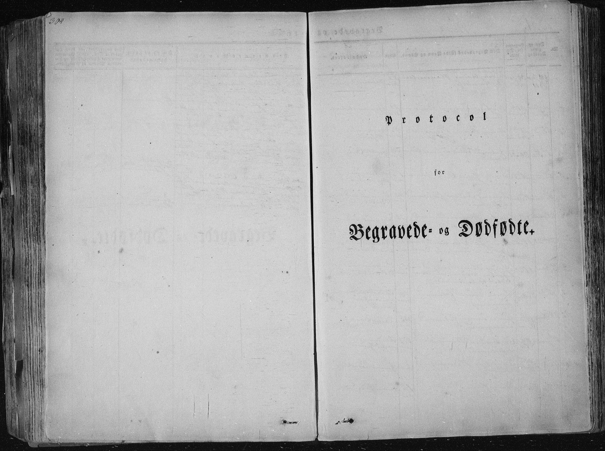 SAKO, Sannidal kirkebøker, F/Fa/L0006: Ministerialbok nr. 6, 1831-1847, s. 304