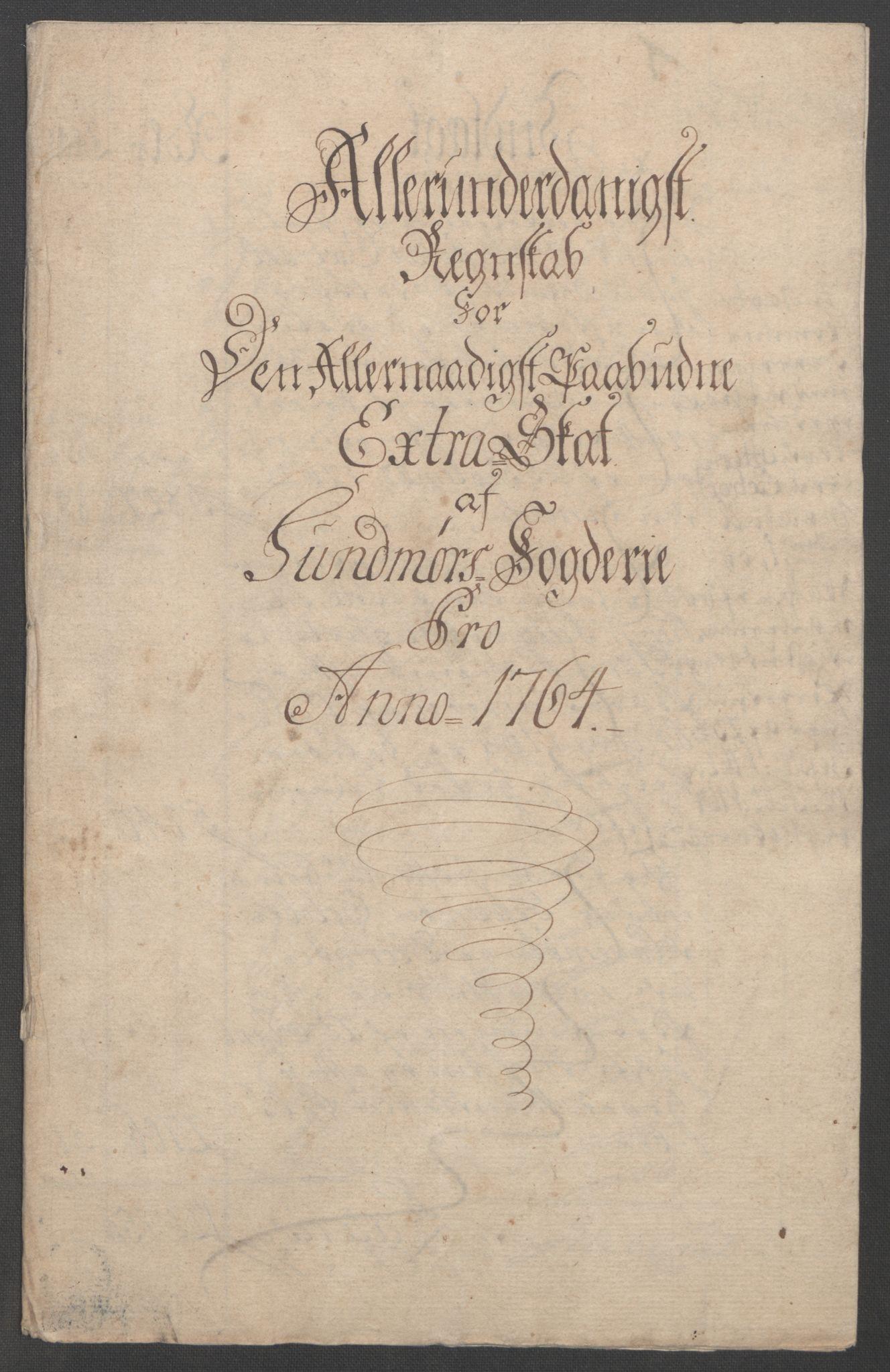 RA, Rentekammeret inntil 1814, Reviderte regnskaper, Fogderegnskap, R54/L3645: Ekstraskatten Sunnmøre, 1762-1772, s. 33
