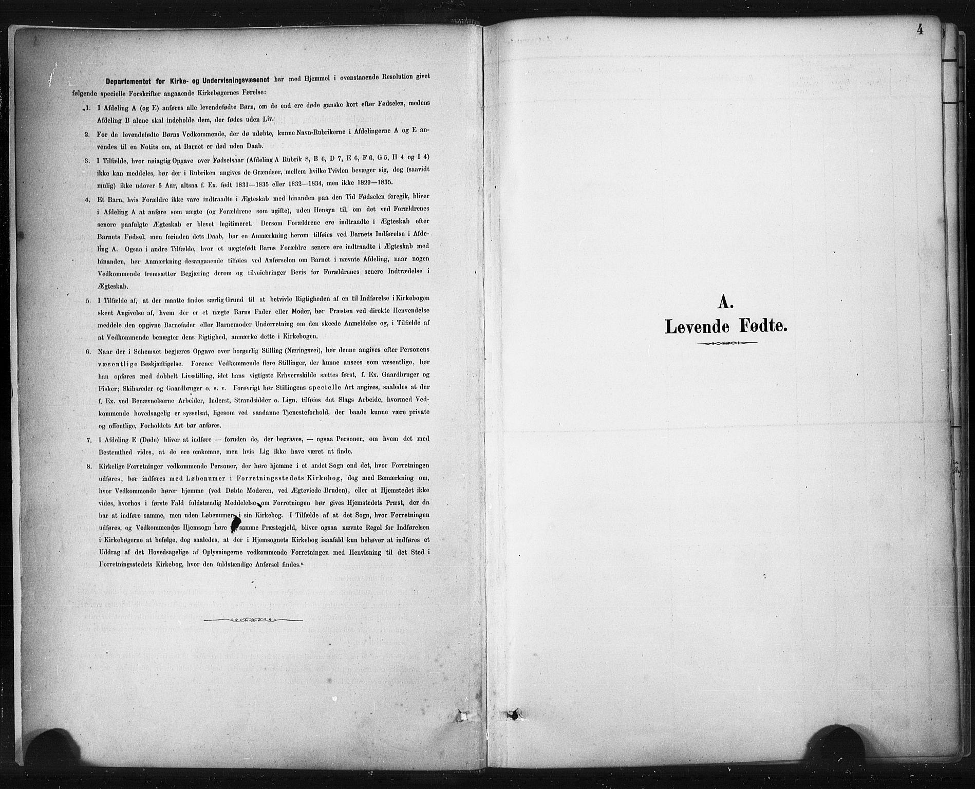 SAST, Sokndal sokneprestkontor, Ministerialbok nr. A 11.1, 1887-1905, s. 4