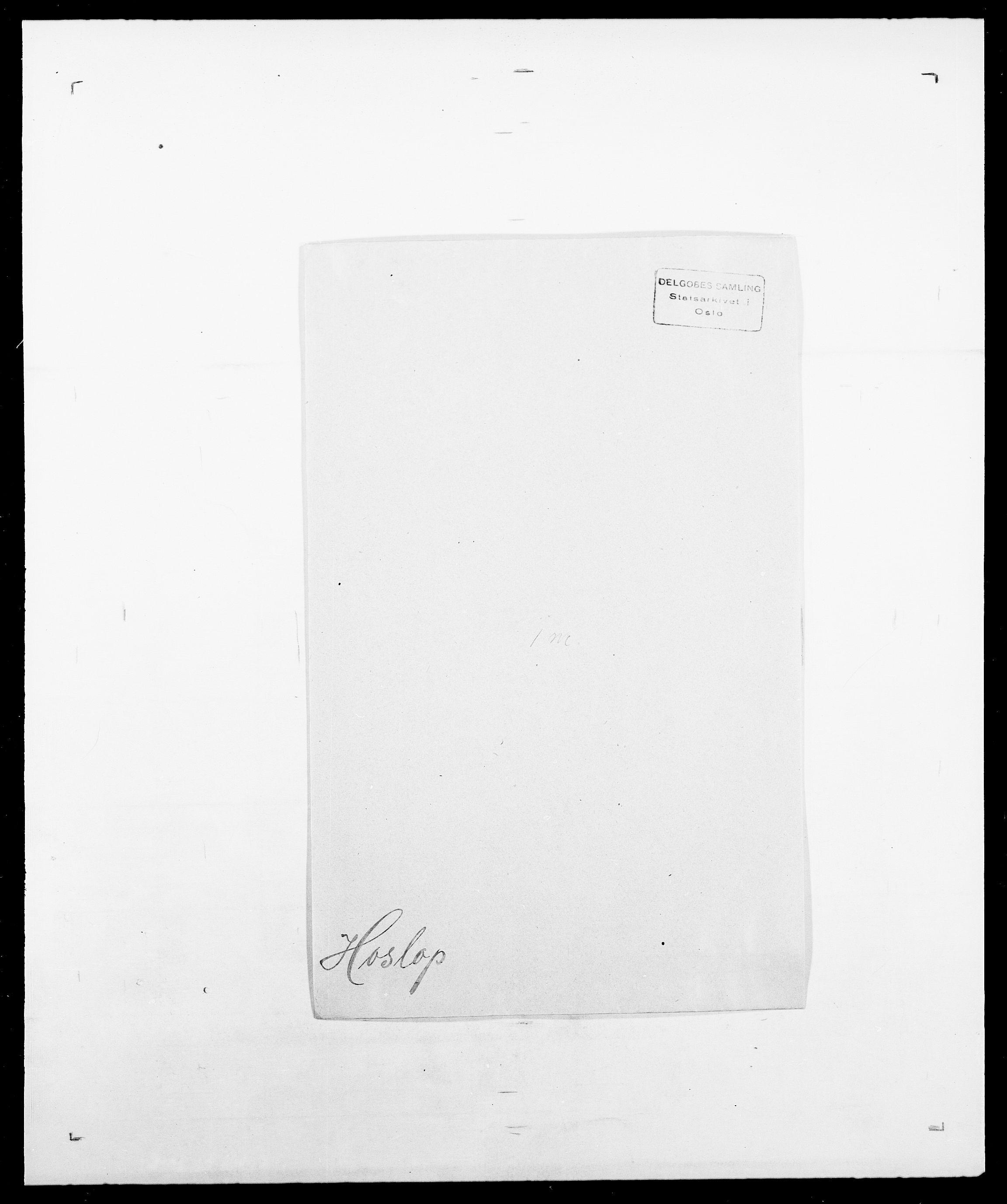 SAO, Delgobe, Charles Antoine - samling, D/Da/L0018: Hoch - Howert, s. 1002