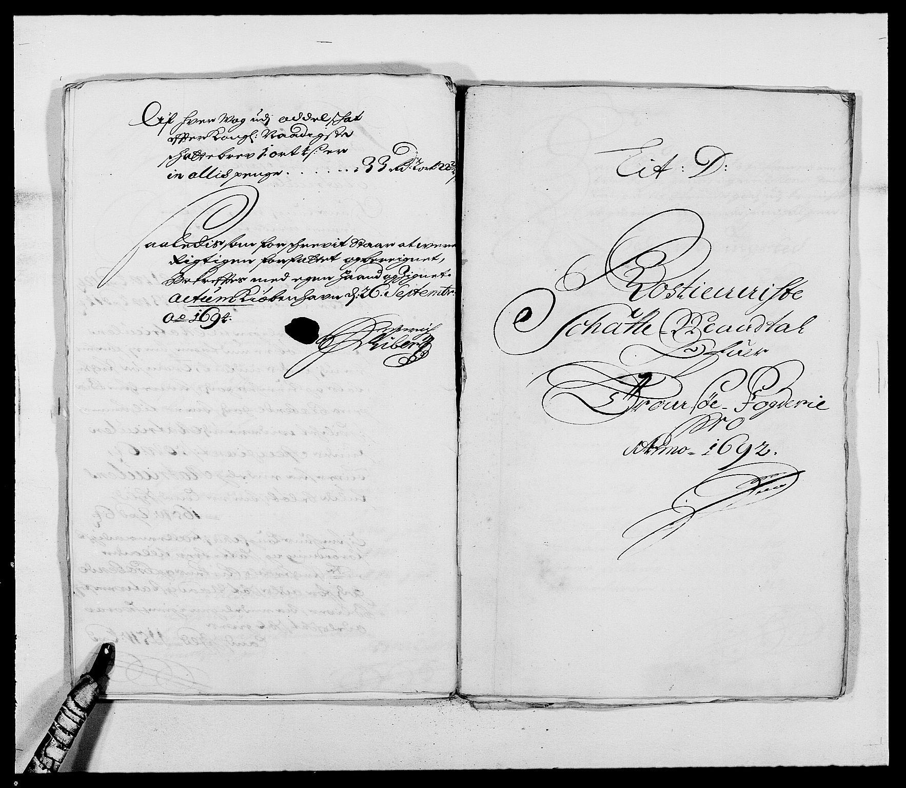RA, Rentekammeret inntil 1814, Reviderte regnskaper, Fogderegnskap, R68/L4751: Fogderegnskap Senja og Troms, 1690-1693, s. 175