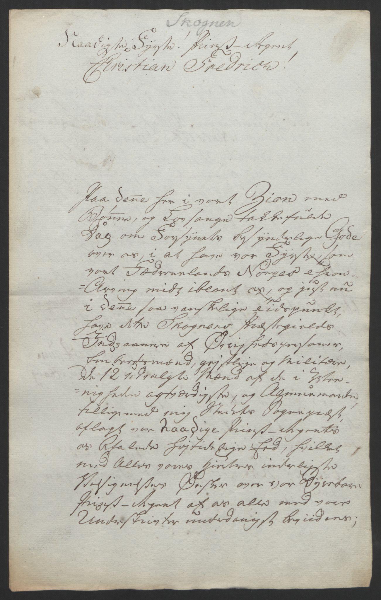 RA, Statsrådssekretariatet, D/Db/L0008: Fullmakter for Eidsvollsrepresentantene i 1814. , 1814, s. 475