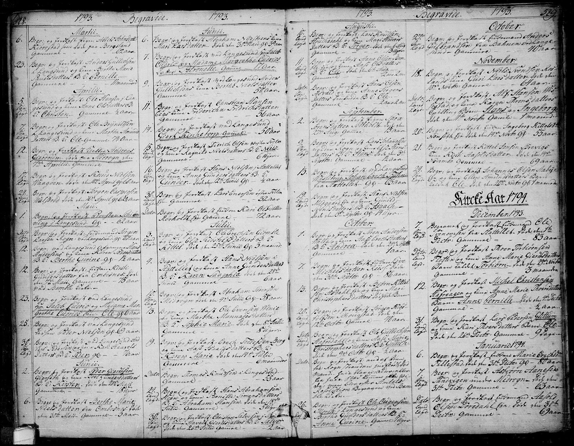 SAKO, Bamble kirkebøker, F/Fa/L0002: Ministerialbok nr. I 2, 1775-1814, s. 528-529