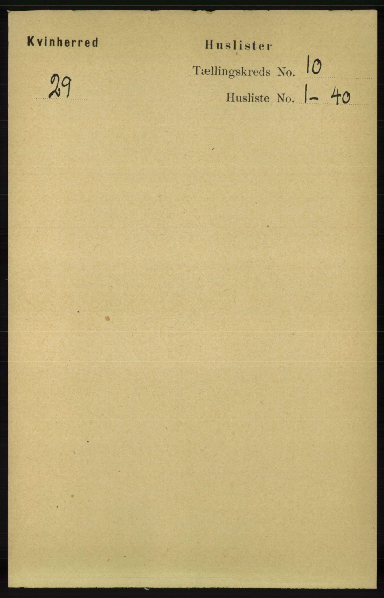RA, Folketelling 1891 for 1224 Kvinnherad herred, 1891, s. 3520