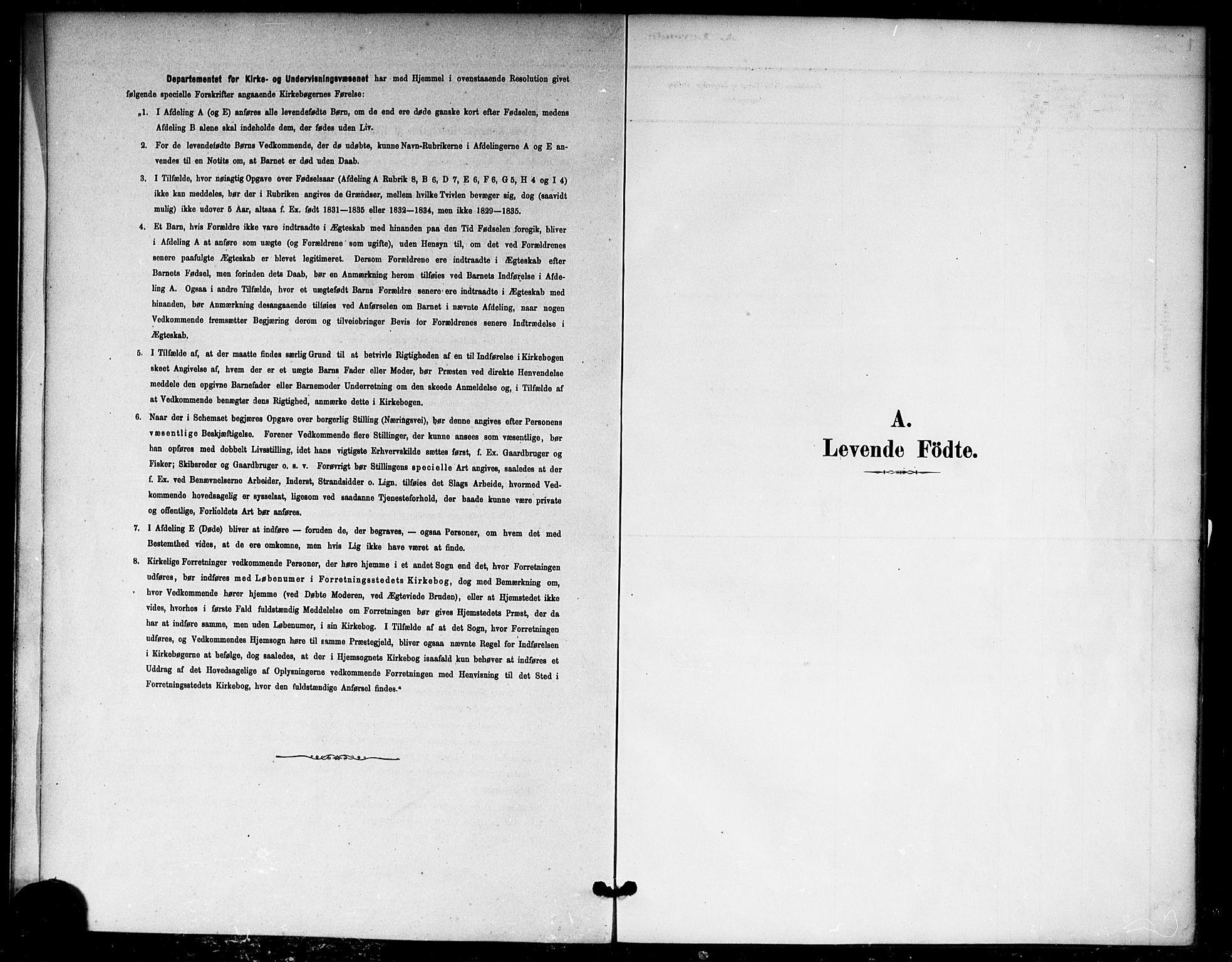 SAO, Nannestad prestekontor Kirkebøker, F/Fb/L0001: Ministerialbok nr. II 1, 1881-1890