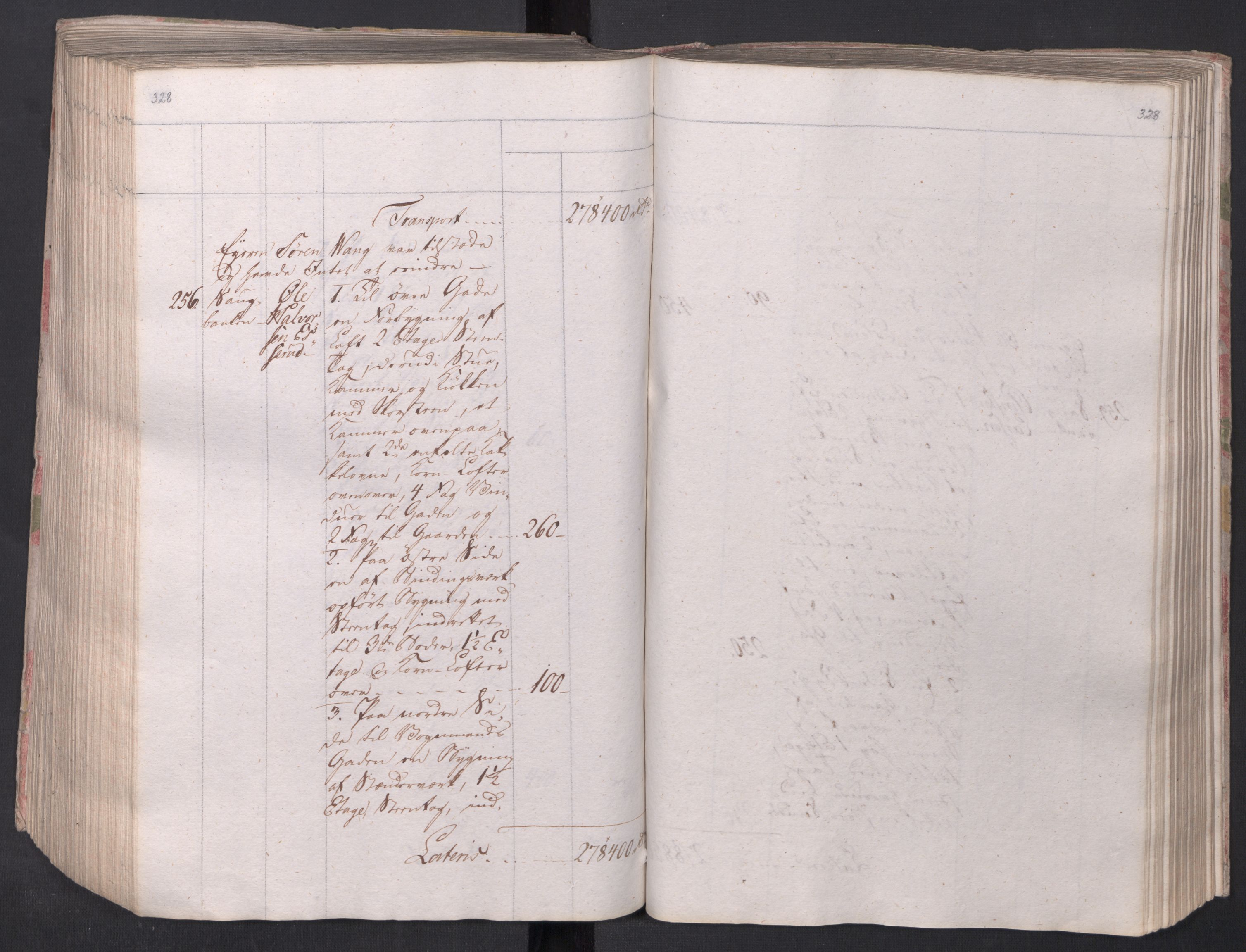 SAO, Kristiania stiftamt, I/Ia/L0015: Branntakster, 1797, s. 328