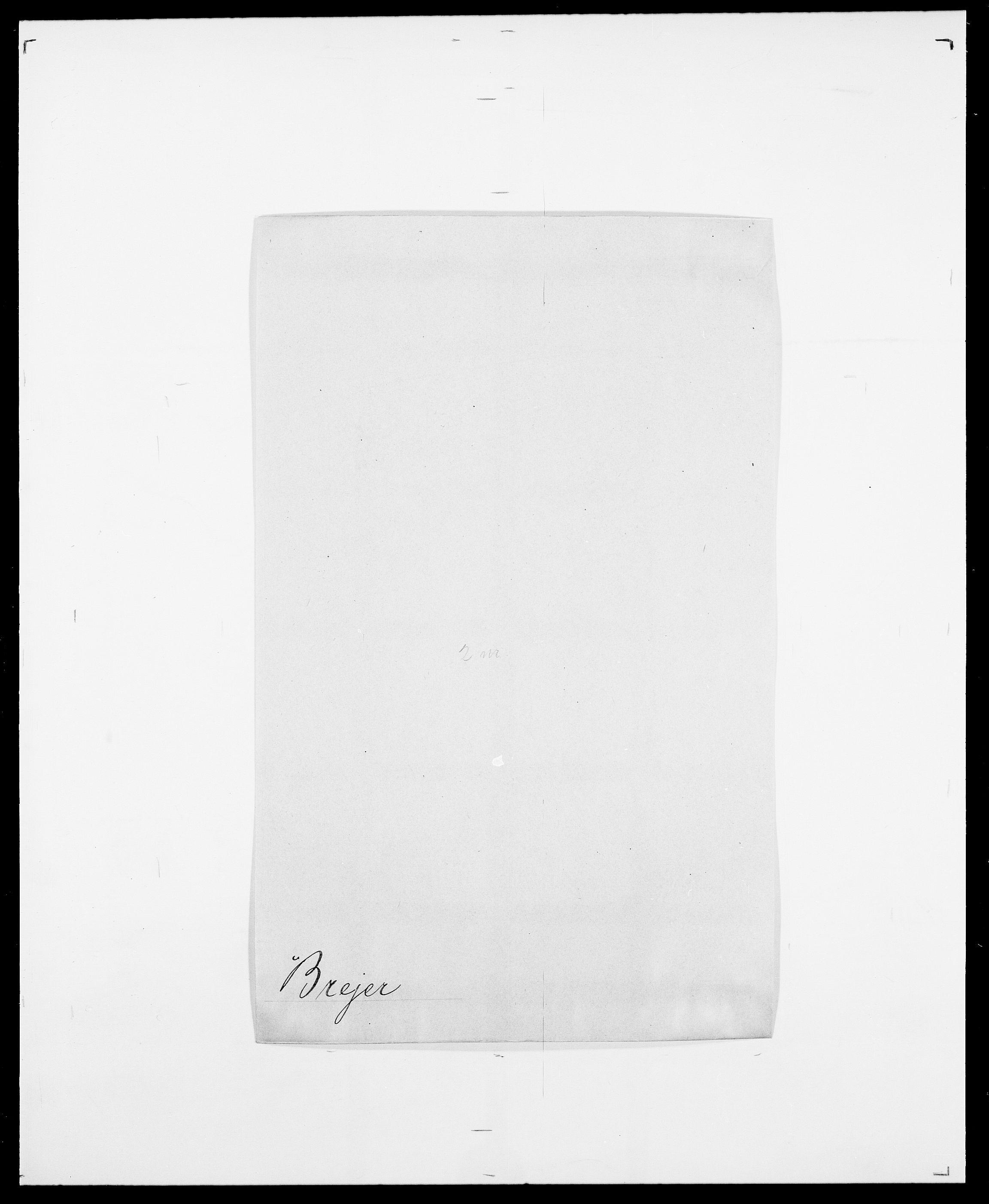 SAO, Delgobe, Charles Antoine - samling, D/Da/L0006: Brambani - Brønø, s. 290