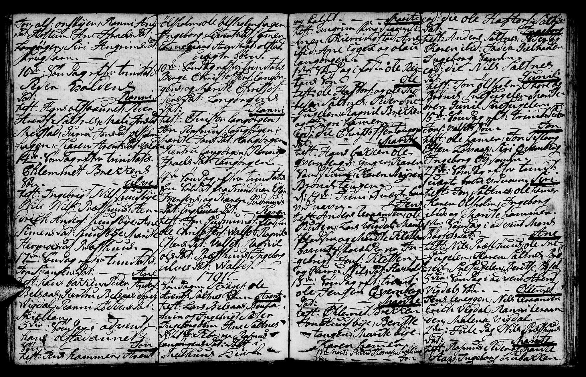 SAT, Ministerialprotokoller, klokkerbøker og fødselsregistre - Sør-Trøndelag, 666/L0784: Ministerialbok nr. 666A02, 1754-1802, s. 84