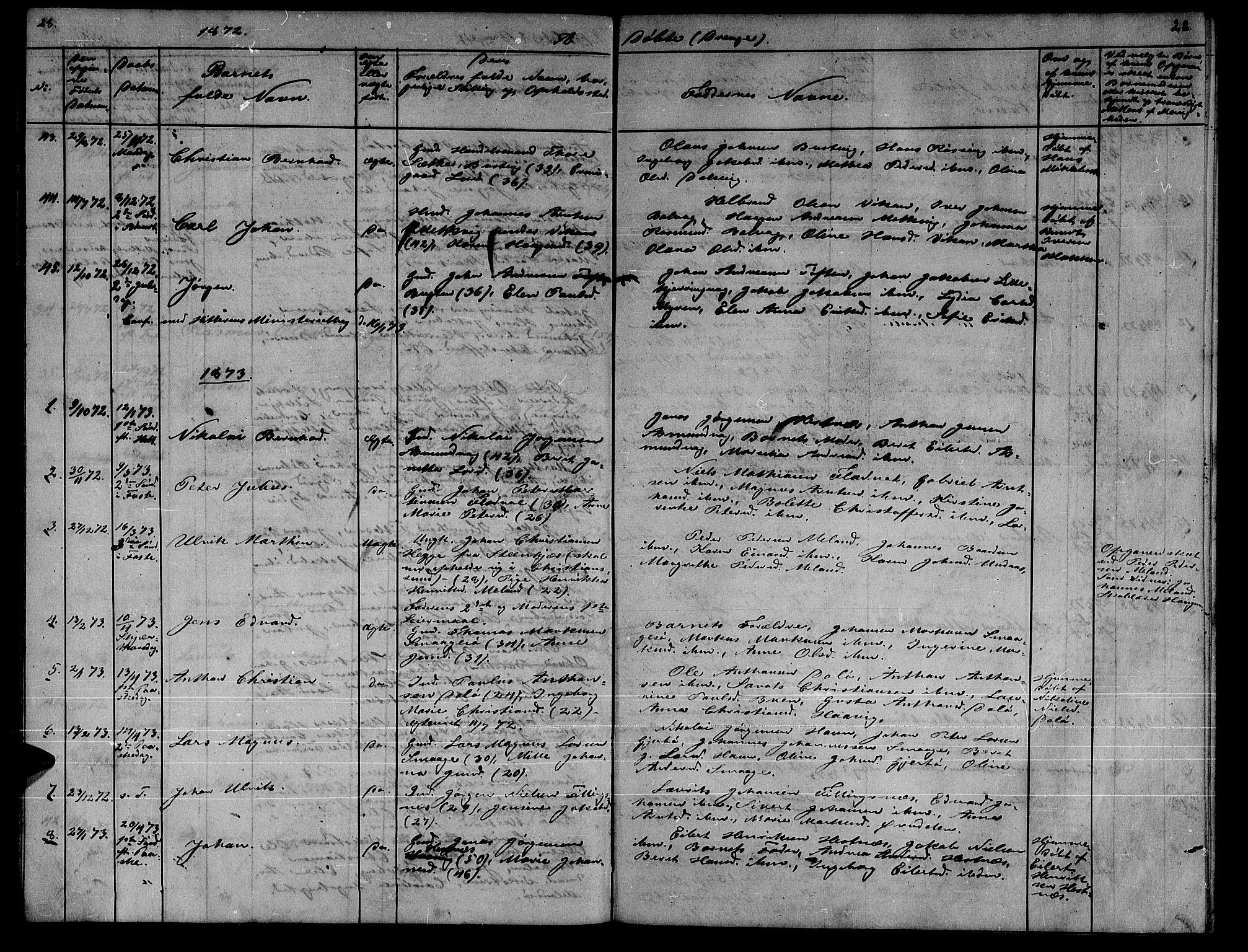 SAT, Ministerialprotokoller, klokkerbøker og fødselsregistre - Sør-Trøndelag, 634/L0539: Klokkerbok nr. 634C01, 1866-1873, s. 28