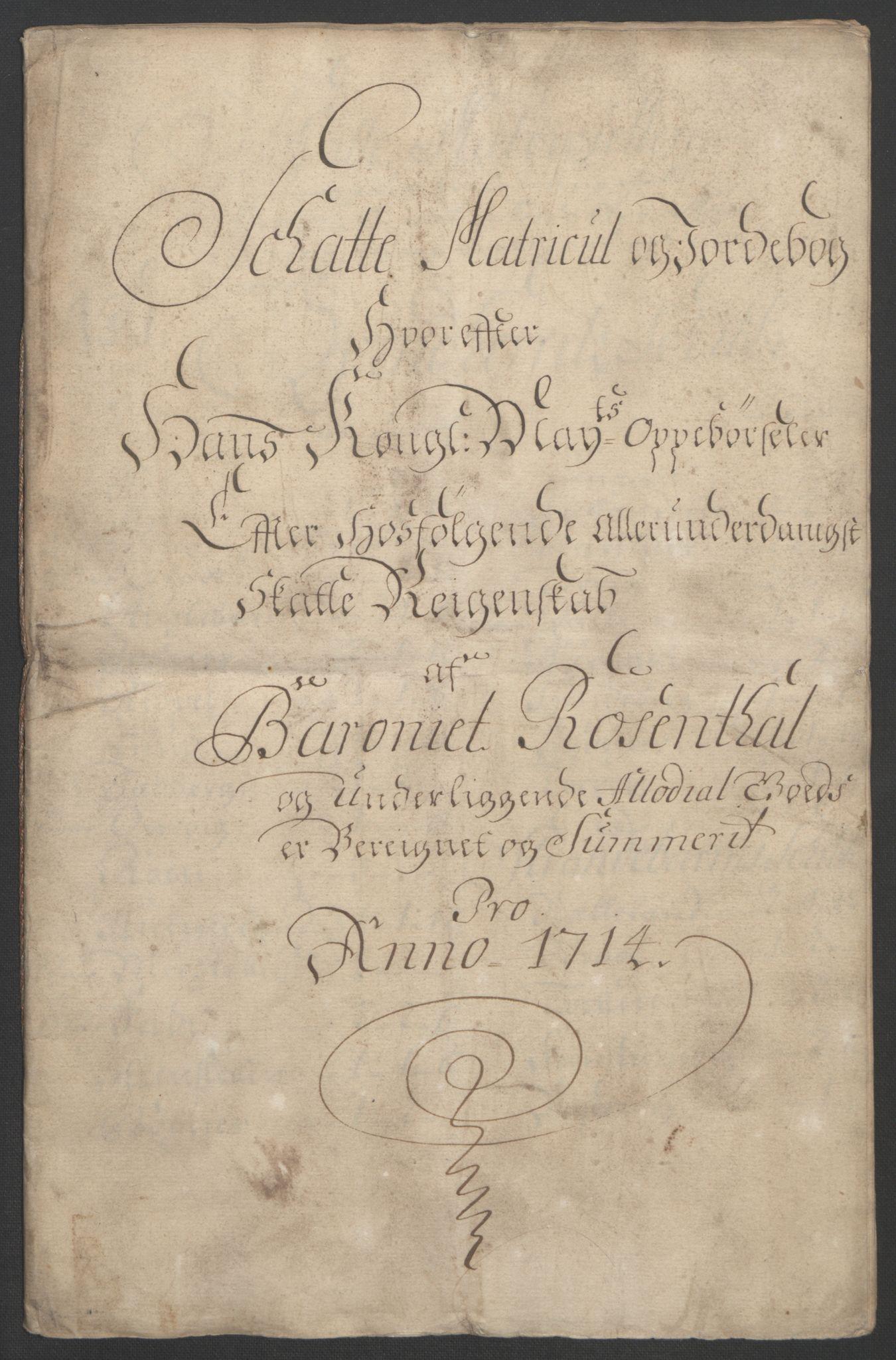 RA, Rentekammeret inntil 1814, Reviderte regnskaper, Fogderegnskap, R49/L3138: Fogderegnskap Rosendal Baroni, 1691-1714, s. 370