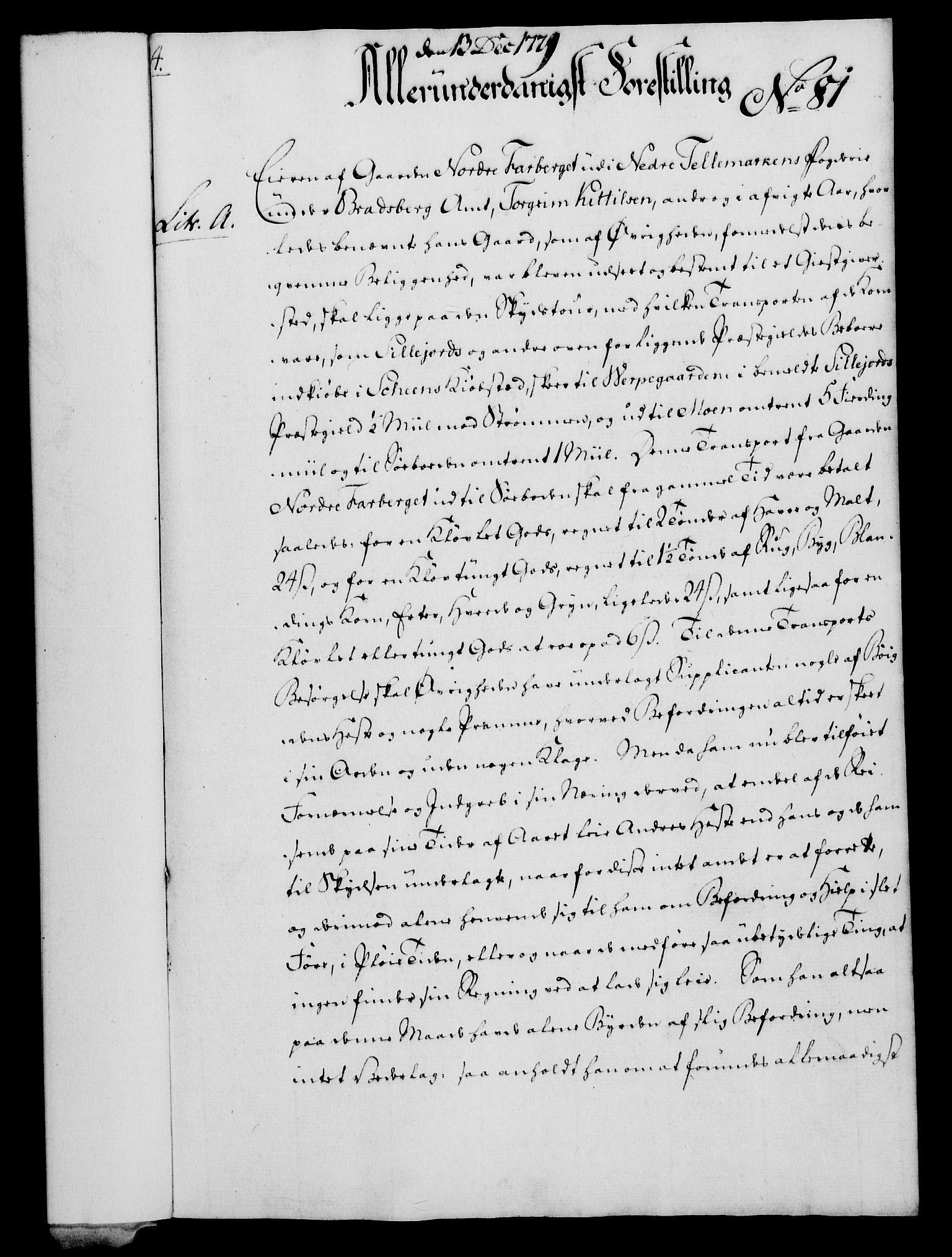 RA, Rentekammeret, Kammerkanselliet, G/Gf/Gfa/L0061: Norsk relasjons- og resolusjonsprotokoll (merket RK 52.61), 1779, s. 584