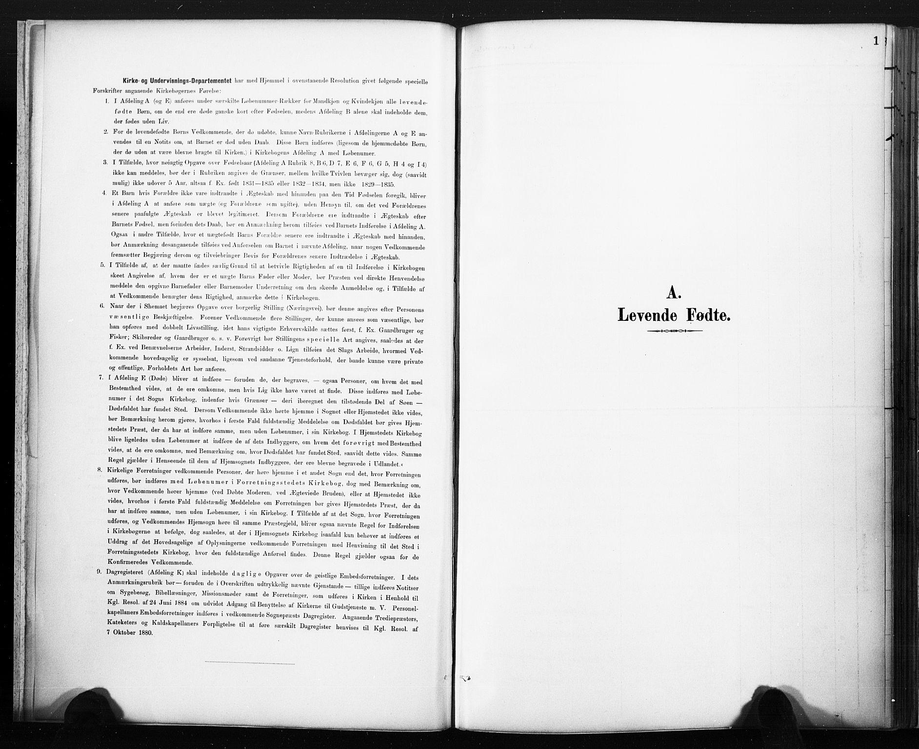 SAKO, Lårdal kirkebøker, F/Fc/L0002: Ministerialbok nr. III 2, 1887-1906, s. 1
