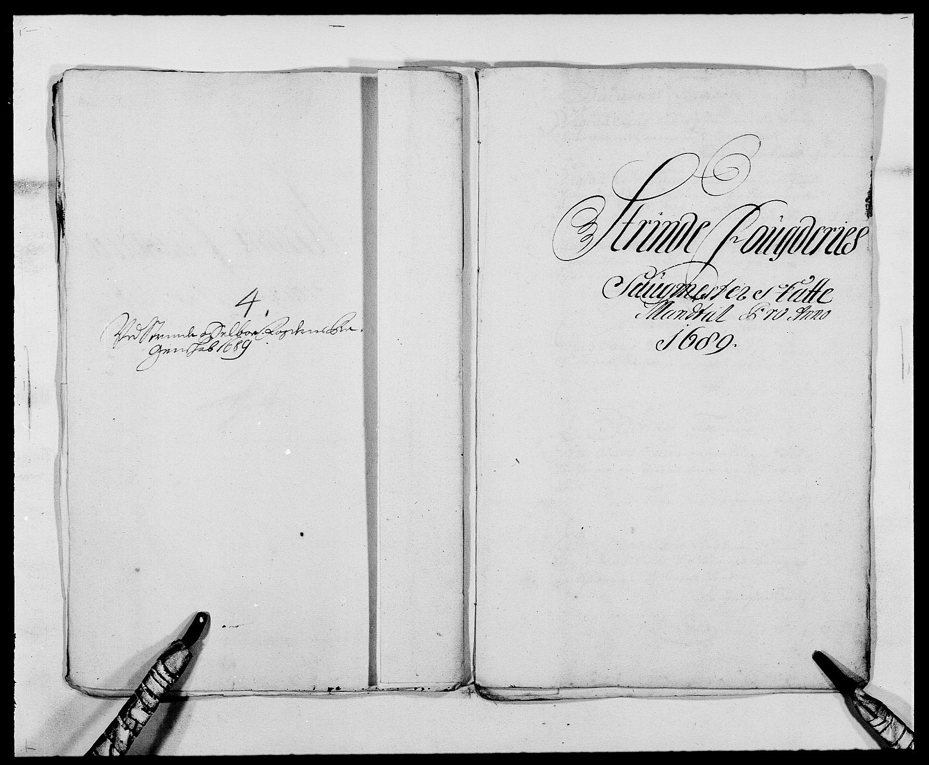 RA, Rentekammeret inntil 1814, Reviderte regnskaper, Fogderegnskap, R61/L4102: Fogderegnskap Strinda og Selbu, 1689-1690, s. 36