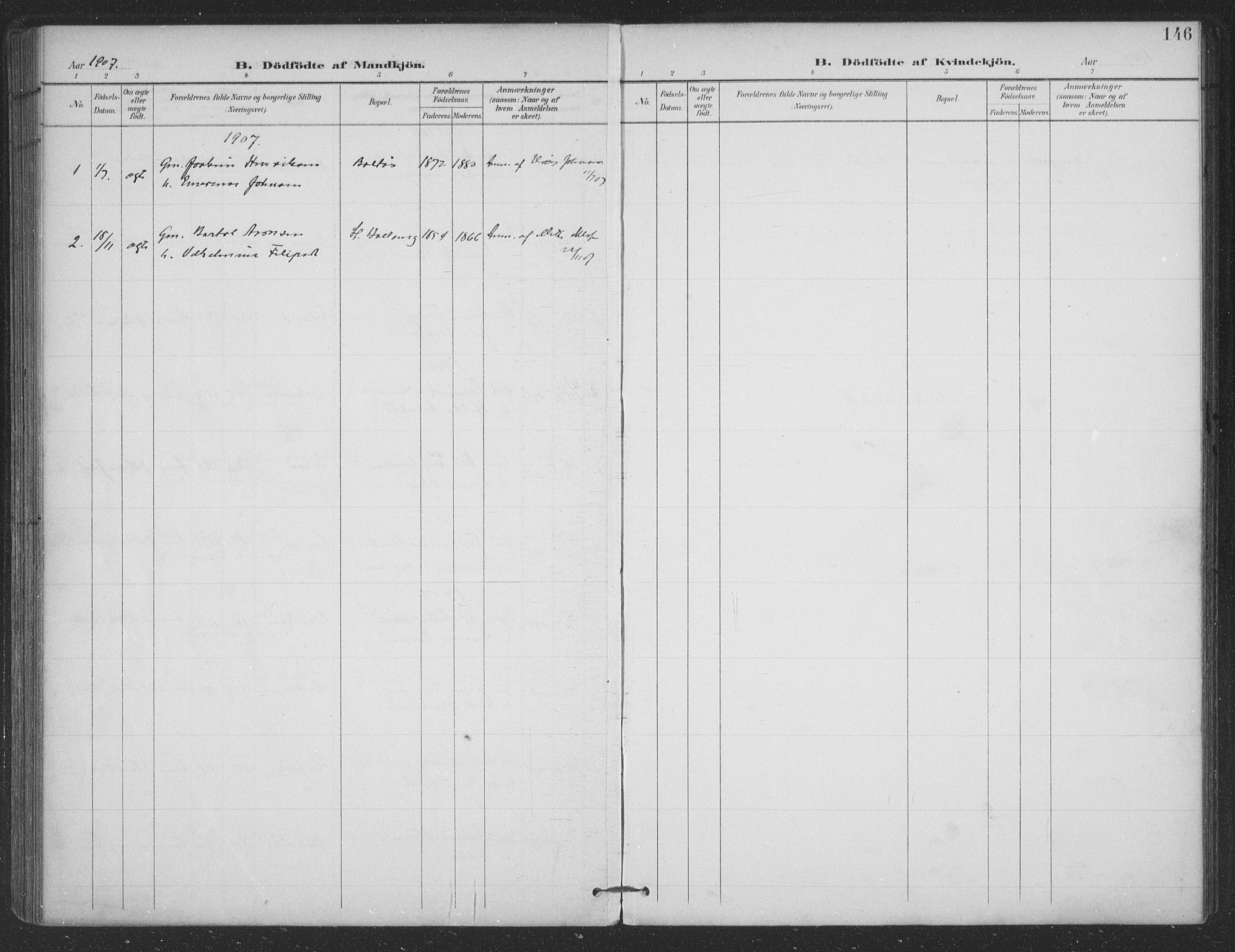 SAT, Ministerialprotokoller, klokkerbøker og fødselsregistre - Nordland, 863/L0899: Ministerialbok nr. 863A11, 1897-1906, s. 146