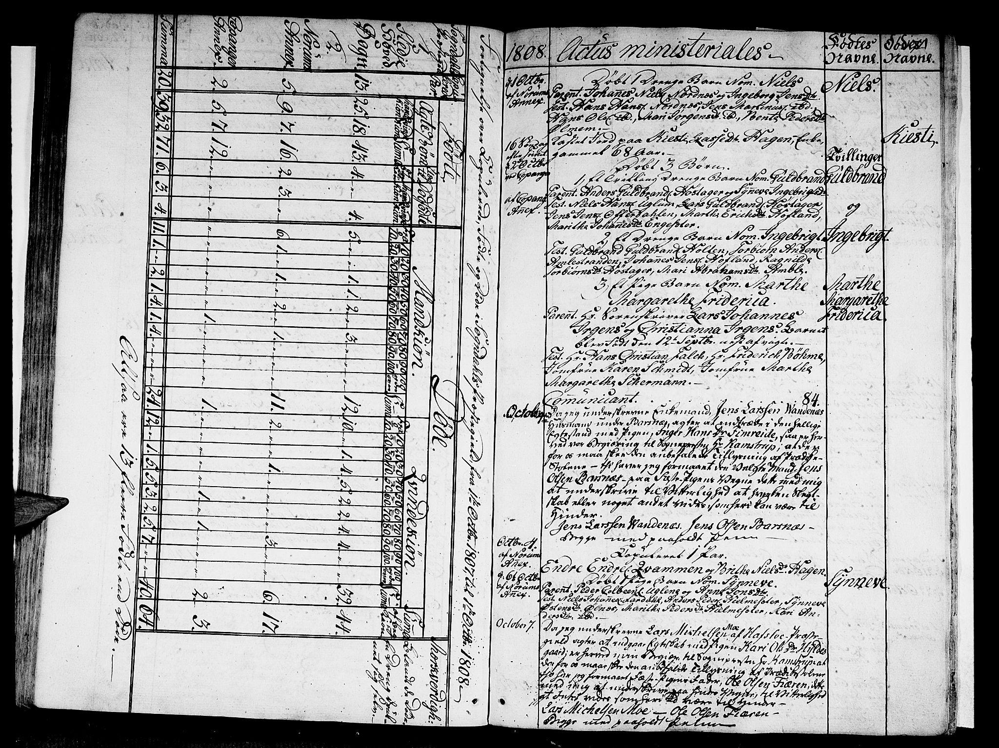 SAB, Sogndal Sokneprestembete, Ministerialbok nr. A 8, 1795-1809, s. 174