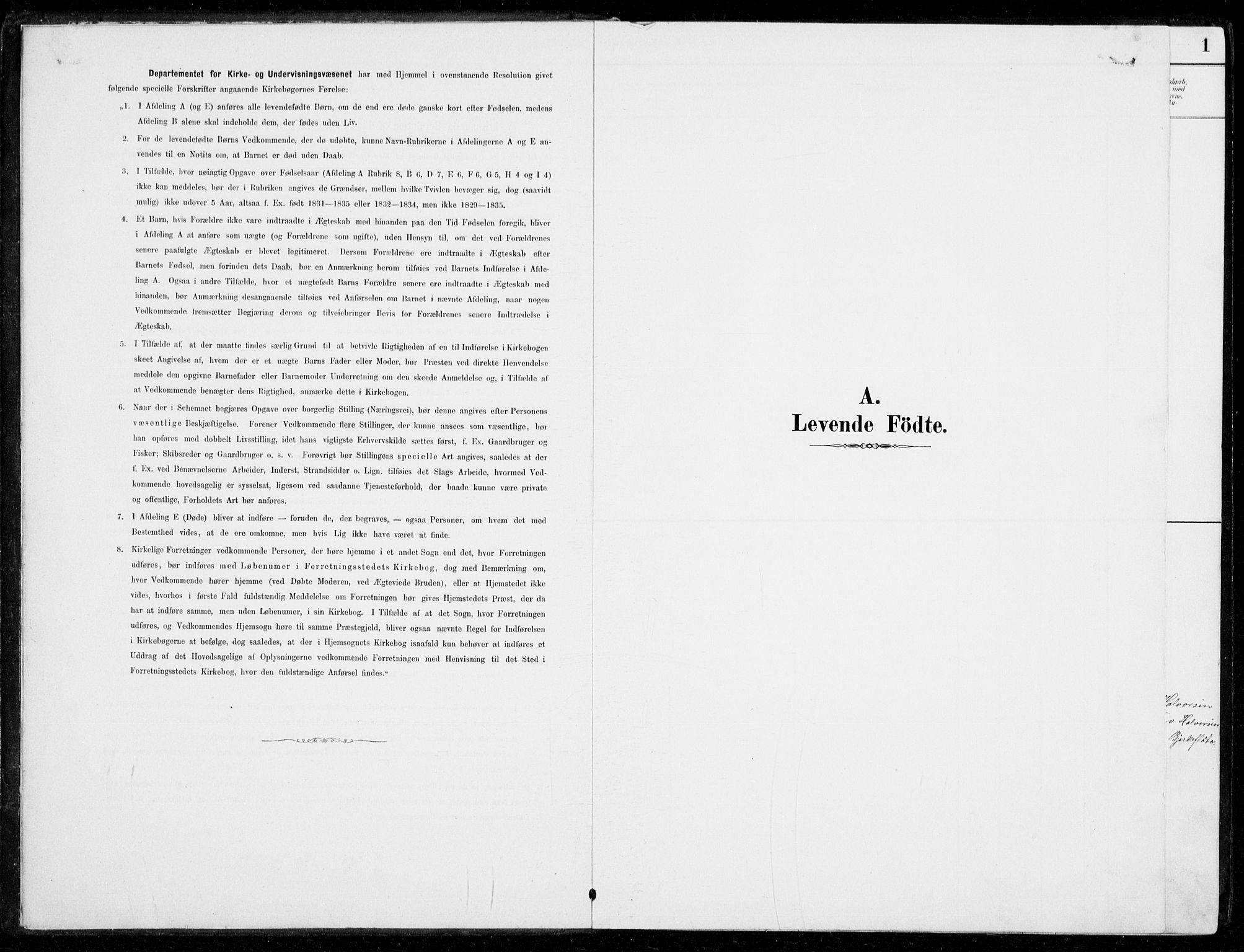 SAKO, Nore kirkebøker, G/Gc/L0003: Klokkerbok nr. III 3, 1881-1941