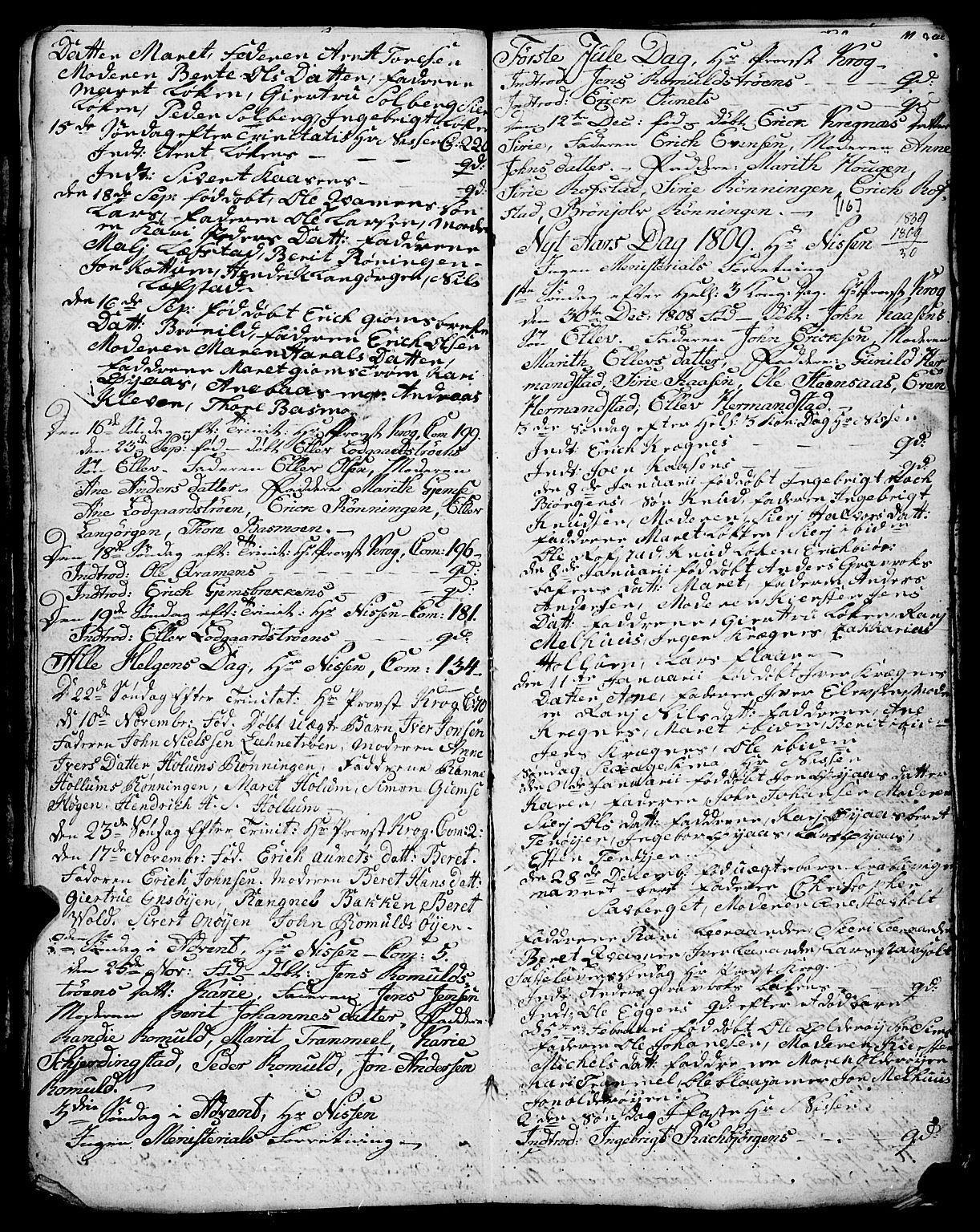 SAT, Ministerialprotokoller, klokkerbøker og fødselsregistre - Sør-Trøndelag, 691/L1091: Klokkerbok nr. 691C02, 1802-1815, s. 16