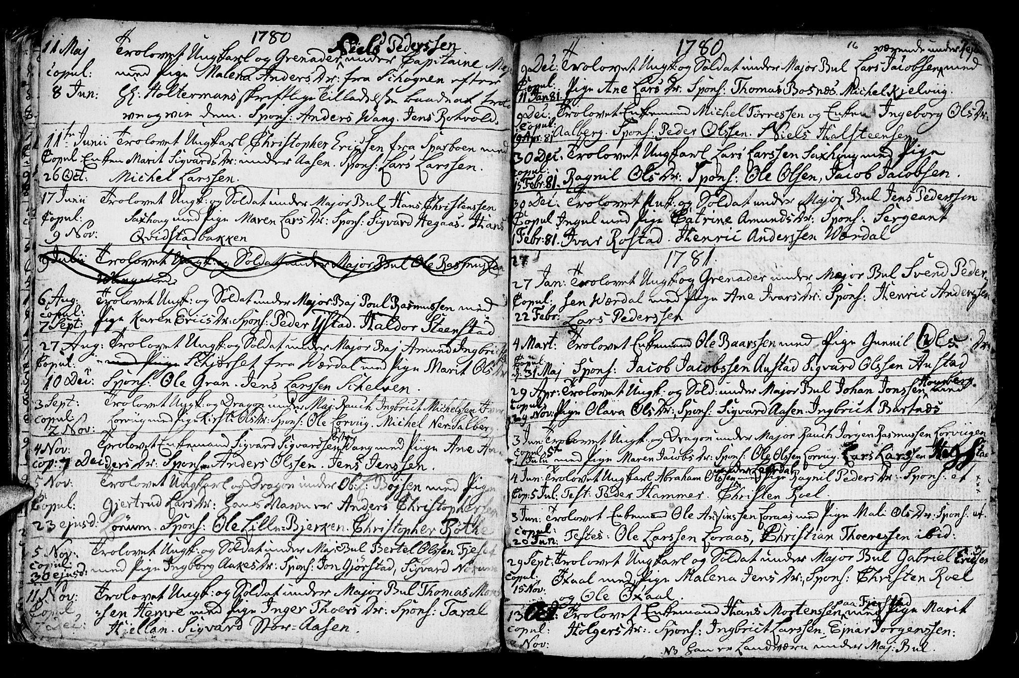 SAT, Ministerialprotokoller, klokkerbøker og fødselsregistre - Nord-Trøndelag, 730/L0273: Ministerialbok nr. 730A02, 1762-1802, s. 16