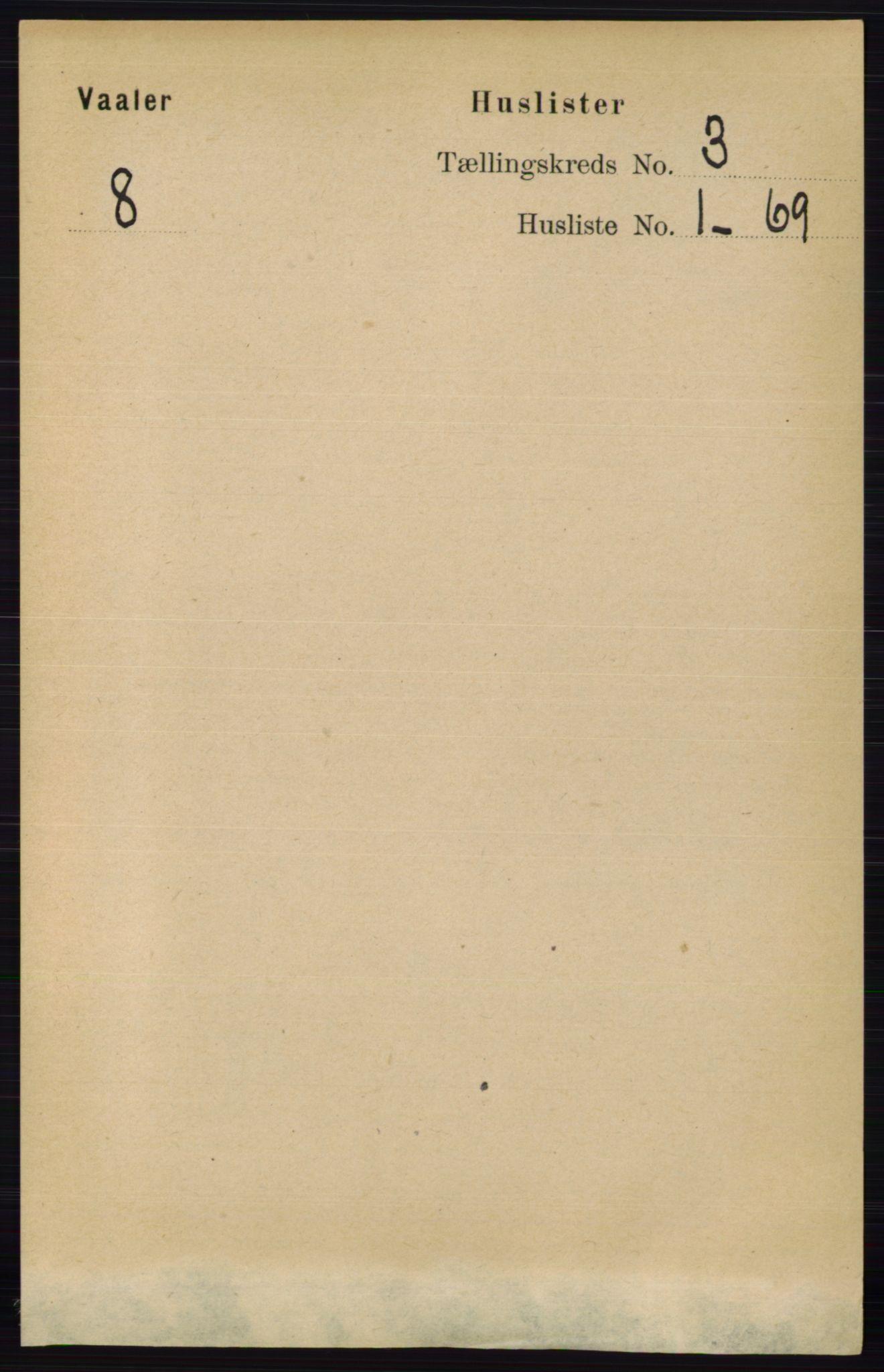 RA, Folketelling 1891 for 0137 Våler herred, 1891, s. 1039