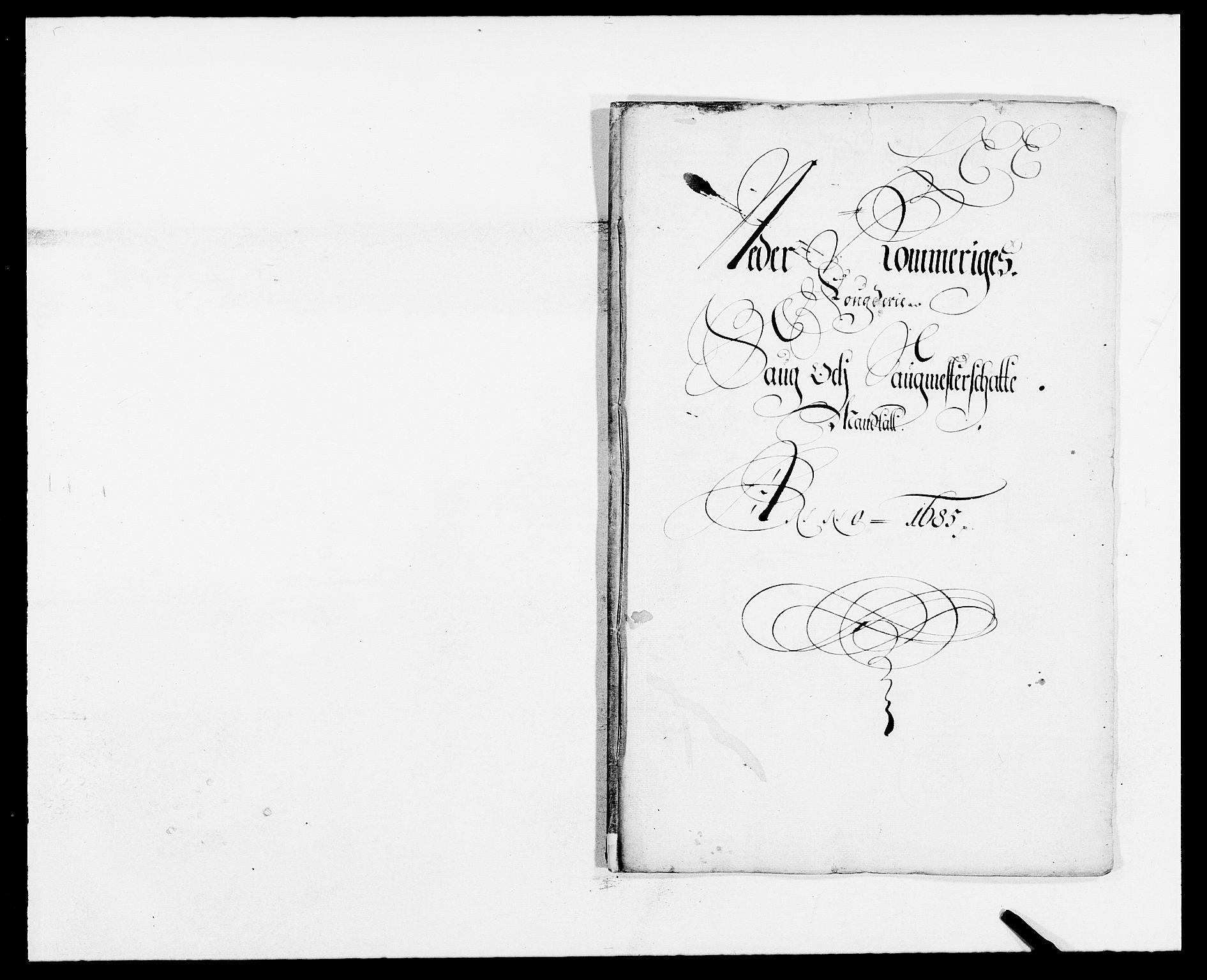 RA, Rentekammeret inntil 1814, Reviderte regnskaper, Fogderegnskap, R11/L0571: Fogderegnskap Nedre Romerike, 1683-1685, s. 381