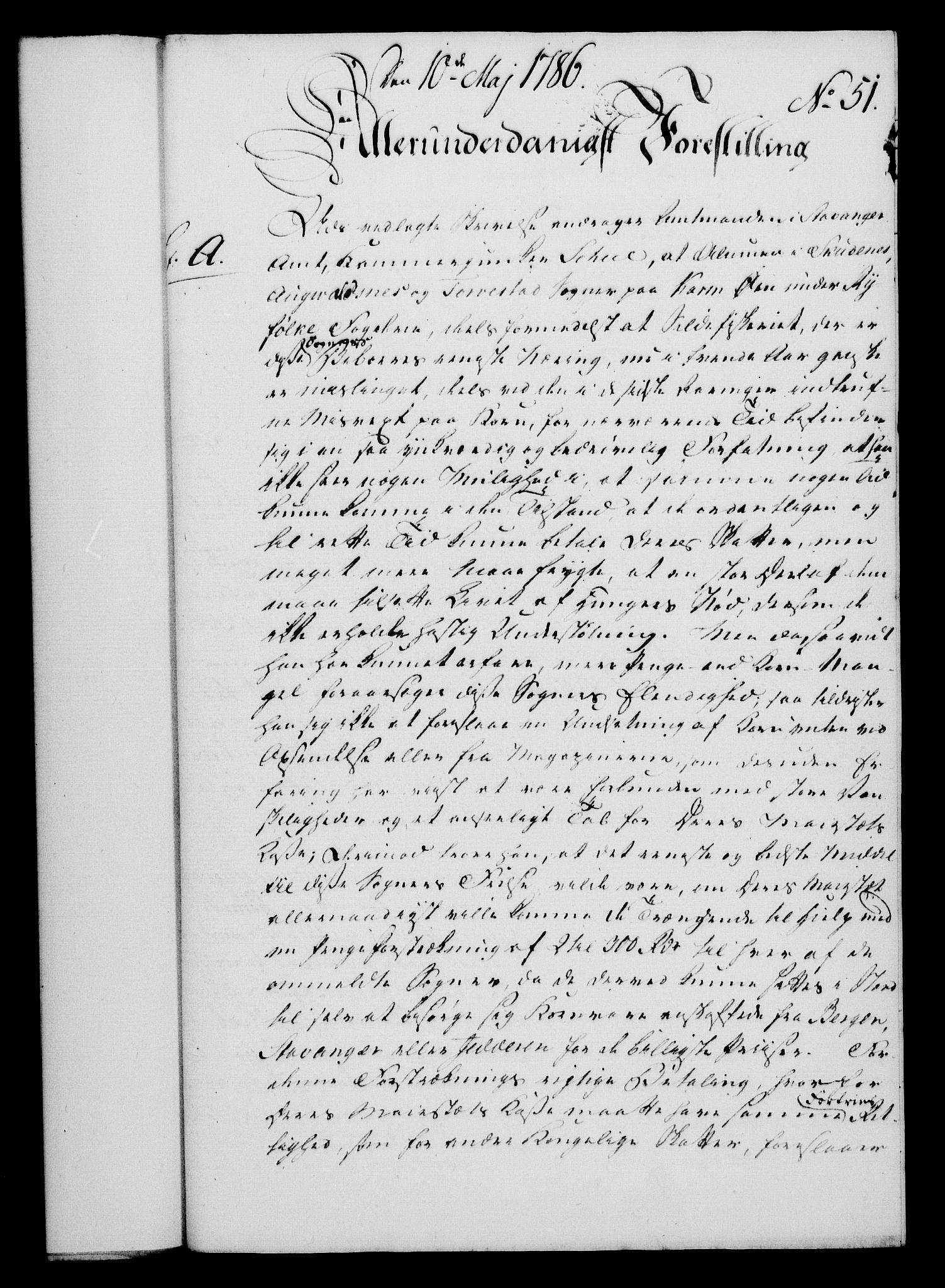 RA, Rentekammeret, Kammerkanselliet, G/Gf/Gfa/L0068: Norsk relasjons- og resolusjonsprotokoll (merket RK 52.68), 1786, s. 360
