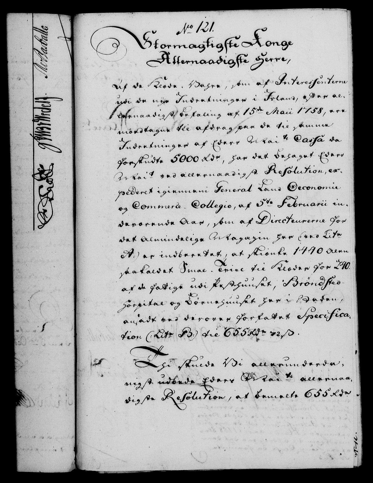 RA, Rentekammeret, Kammerkanselliet, G/Gf/Gfa/L0041: Norsk relasjons- og resolusjonsprotokoll (merket RK 52.41), 1759, s. 623